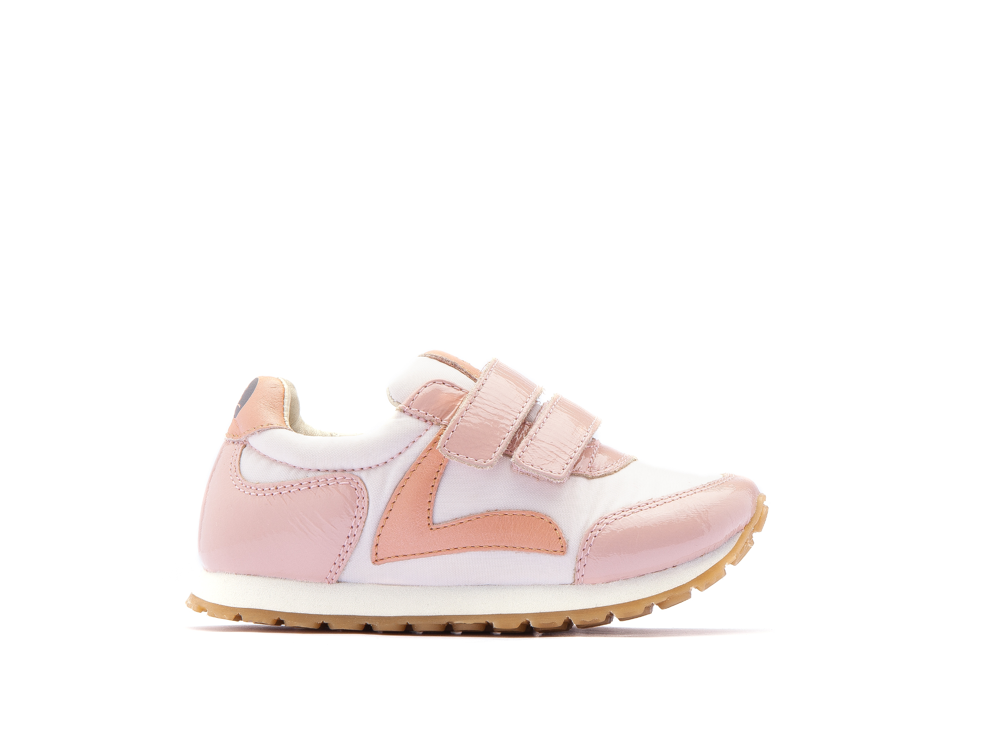 Tênis Little Jump Light Pink Nylon/ Patent Blush Toddler 2 à 4 anos - 1