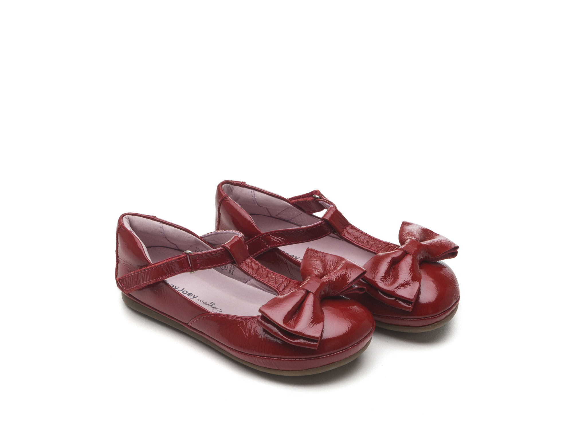 Boneca Little Noble Patent Red Toddler 2 à 4 anos - 0