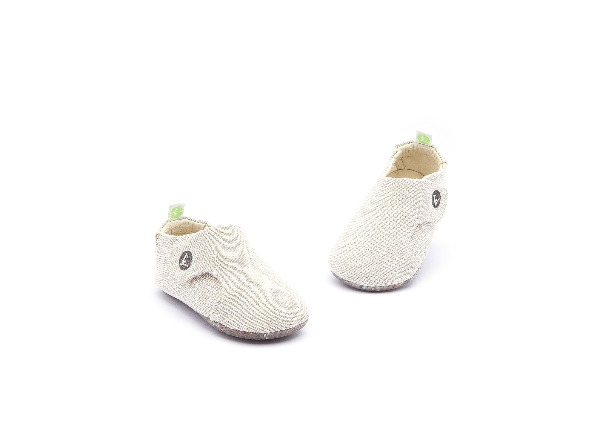Sneaker Casual Greeny Natural Canvas Baby 0 à 2 anos - 4