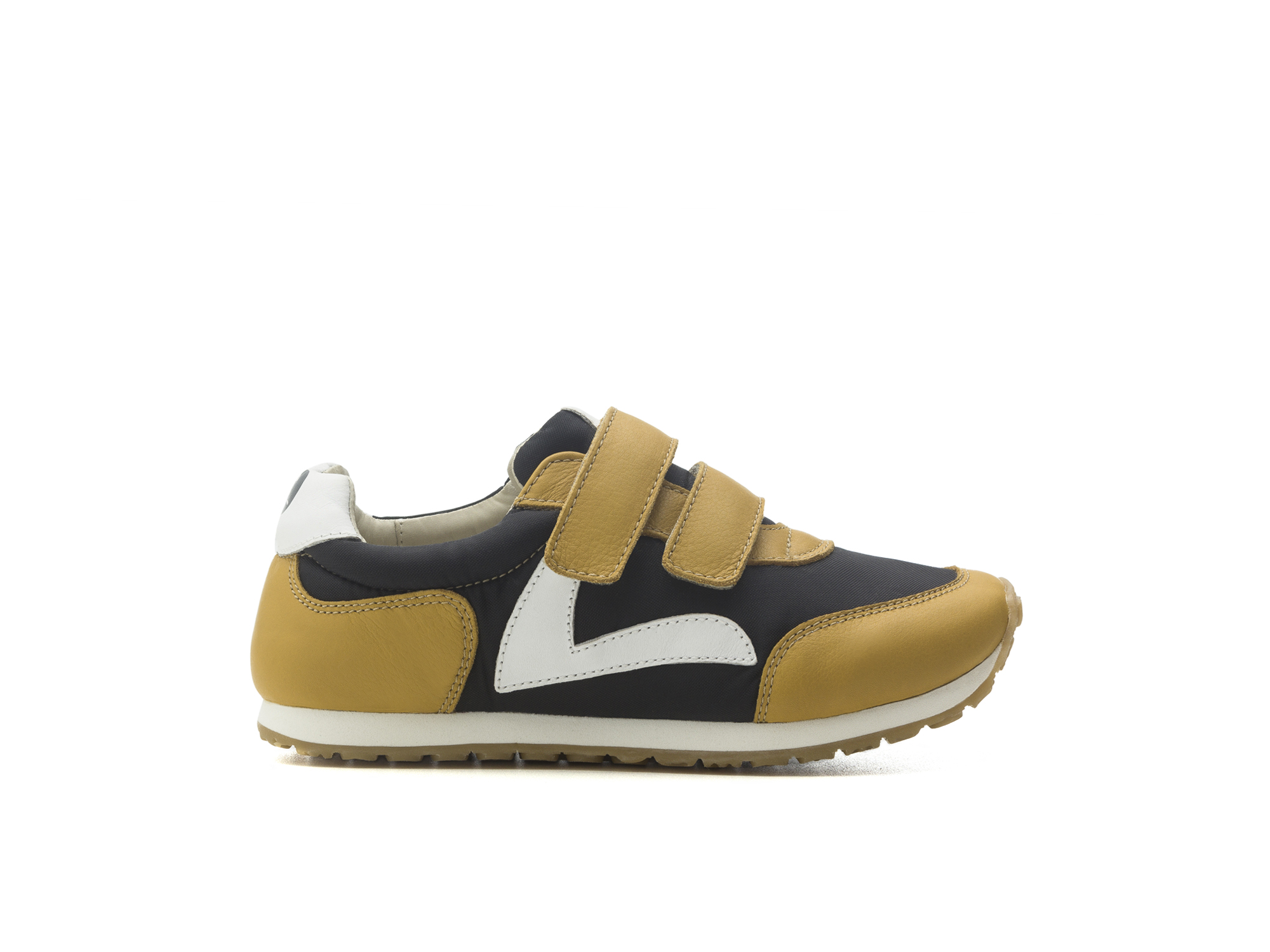Tênis Jump Black Nylon/ Yellow Blur Junior 4 à 8 anos - 1