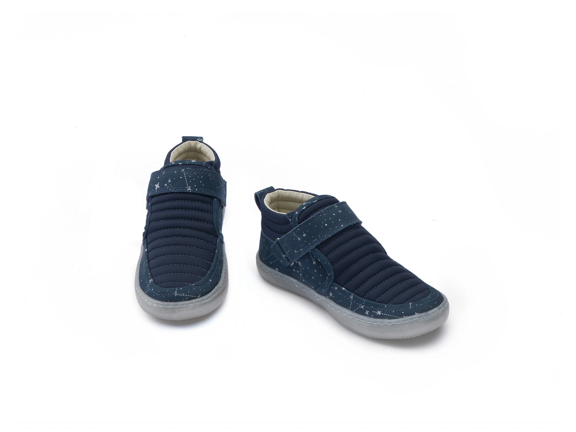 Bota Little Spacesuit Navy Nylon/ Blue Space Toddler 2 à 4 anos - 2