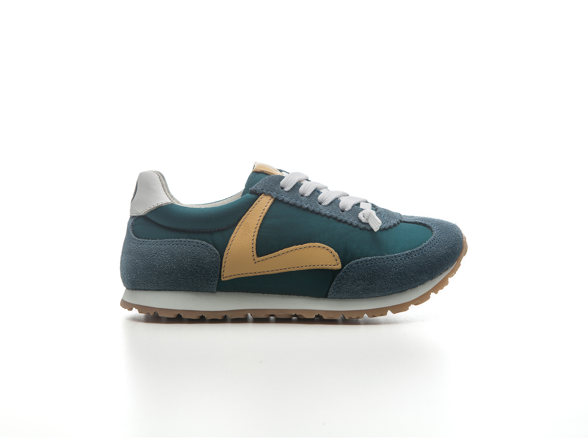 Tênis Run Palm Nylon/ Laguna Suede Junior 4 à 8 anos - 0