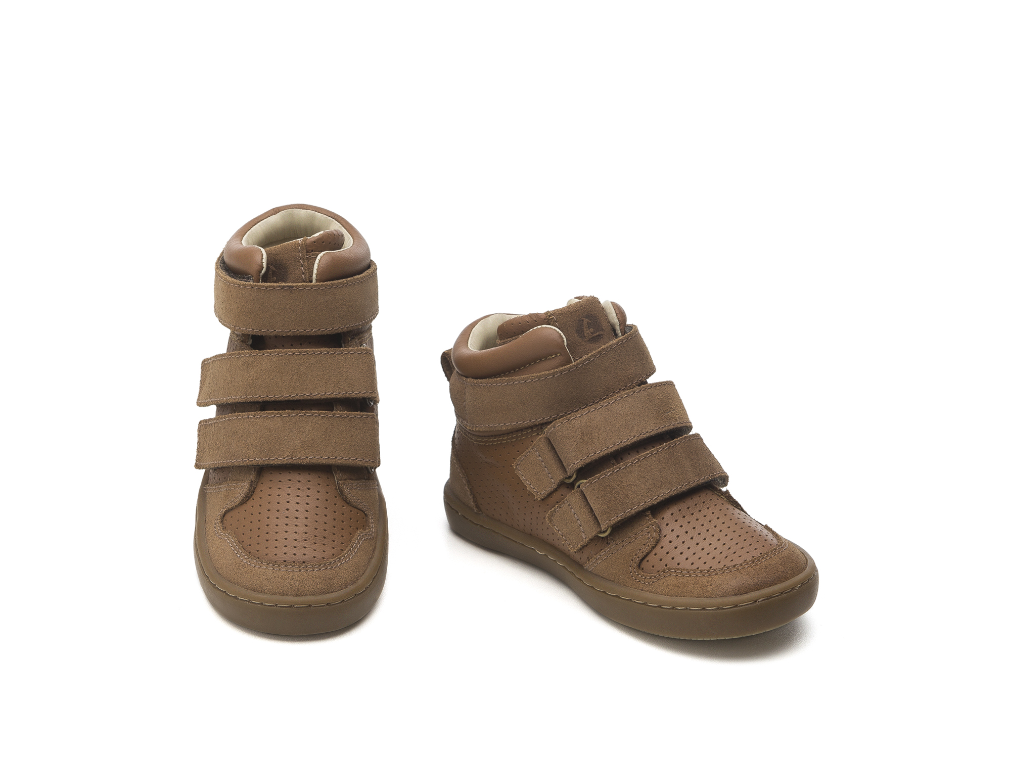 Bota Little Edge Rust Suede/ Cacau Holes Toddler 2 à 4 anos - 2