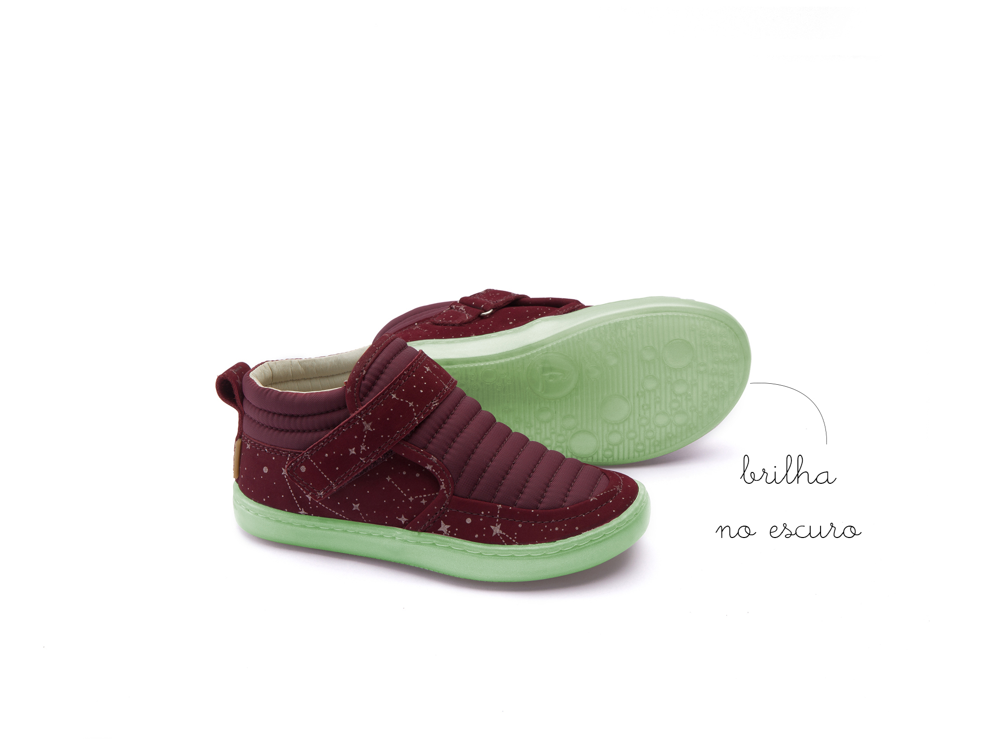 Bota Little Spacesuit Plum Nylon/ Ruby Space Toddler 2 à 4 anos - 1