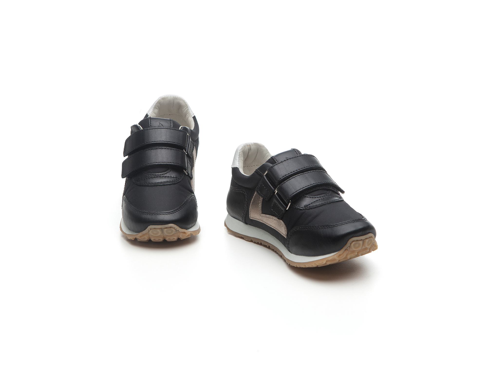 Tênis Little Jump Black Nylon/ Black Toscana  Toddler 2 à 4 anos - 1