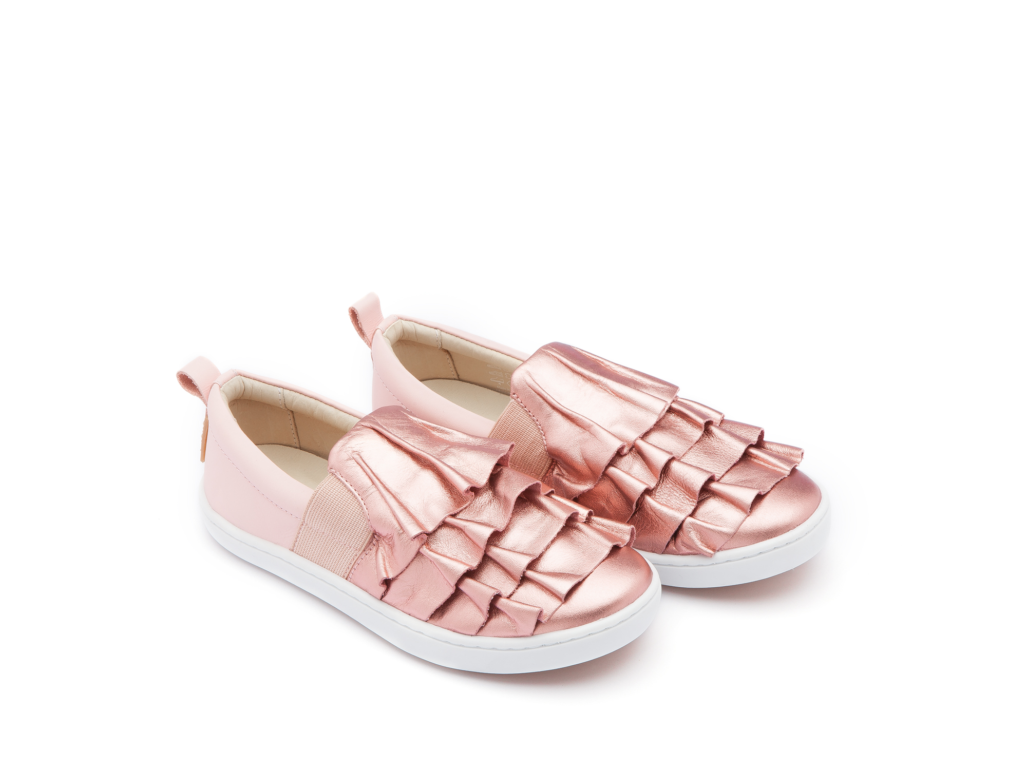 Tênis Flamenco Rose Gold/ Blossom Pink Junior 4 à 8 anos - 0
