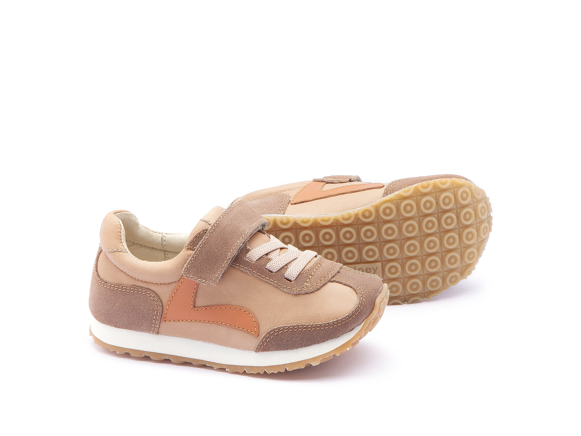 Tênis Little Start Sand/ Dry Tan Suede Toddler 2 à 4 anos - 2