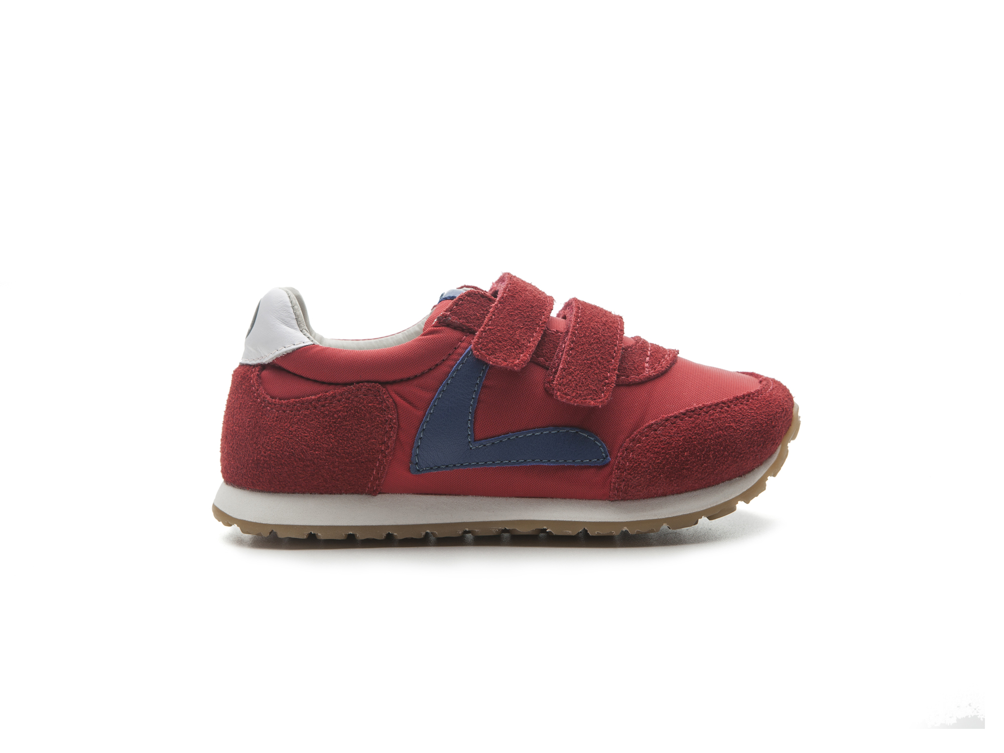 Tênis Jump Red Nylon/ Red Suede Junior 4 à 8 anos - 0