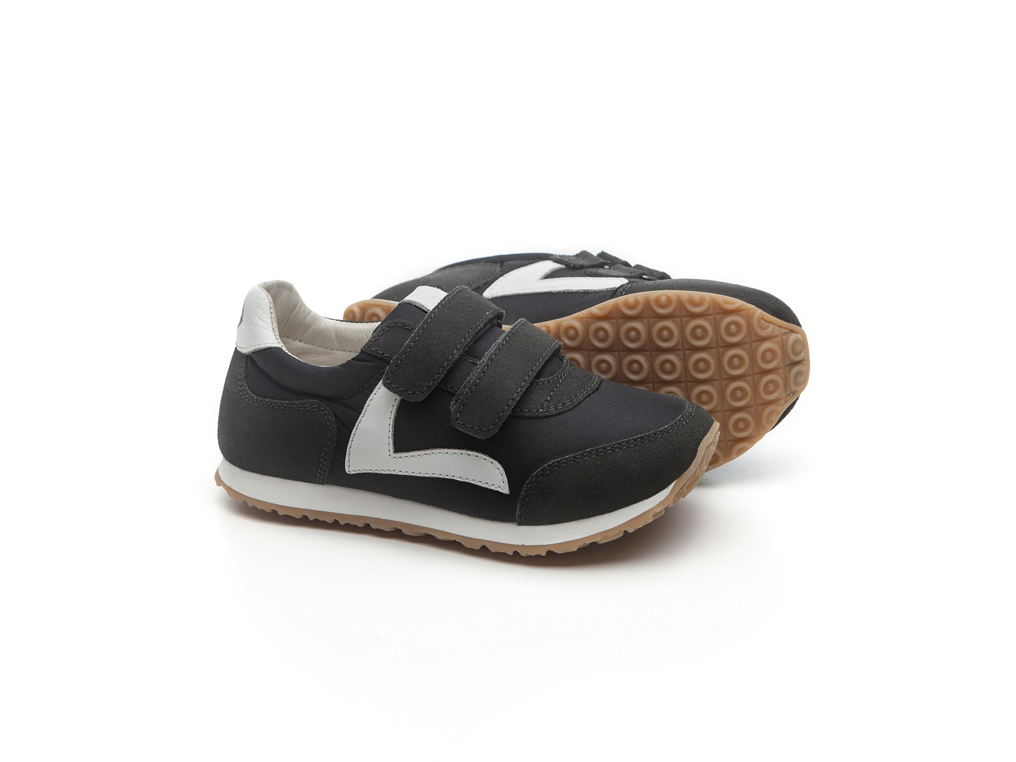 Tênis Little Jump Black Nylon/ Brushed Ash Toddler 2 à 4 anos - 2
