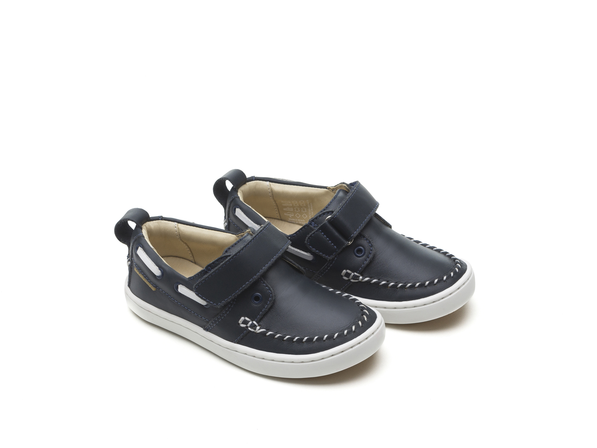 Tênis Little Snap Navy/ White Toddler 2 à 4 anos - 0