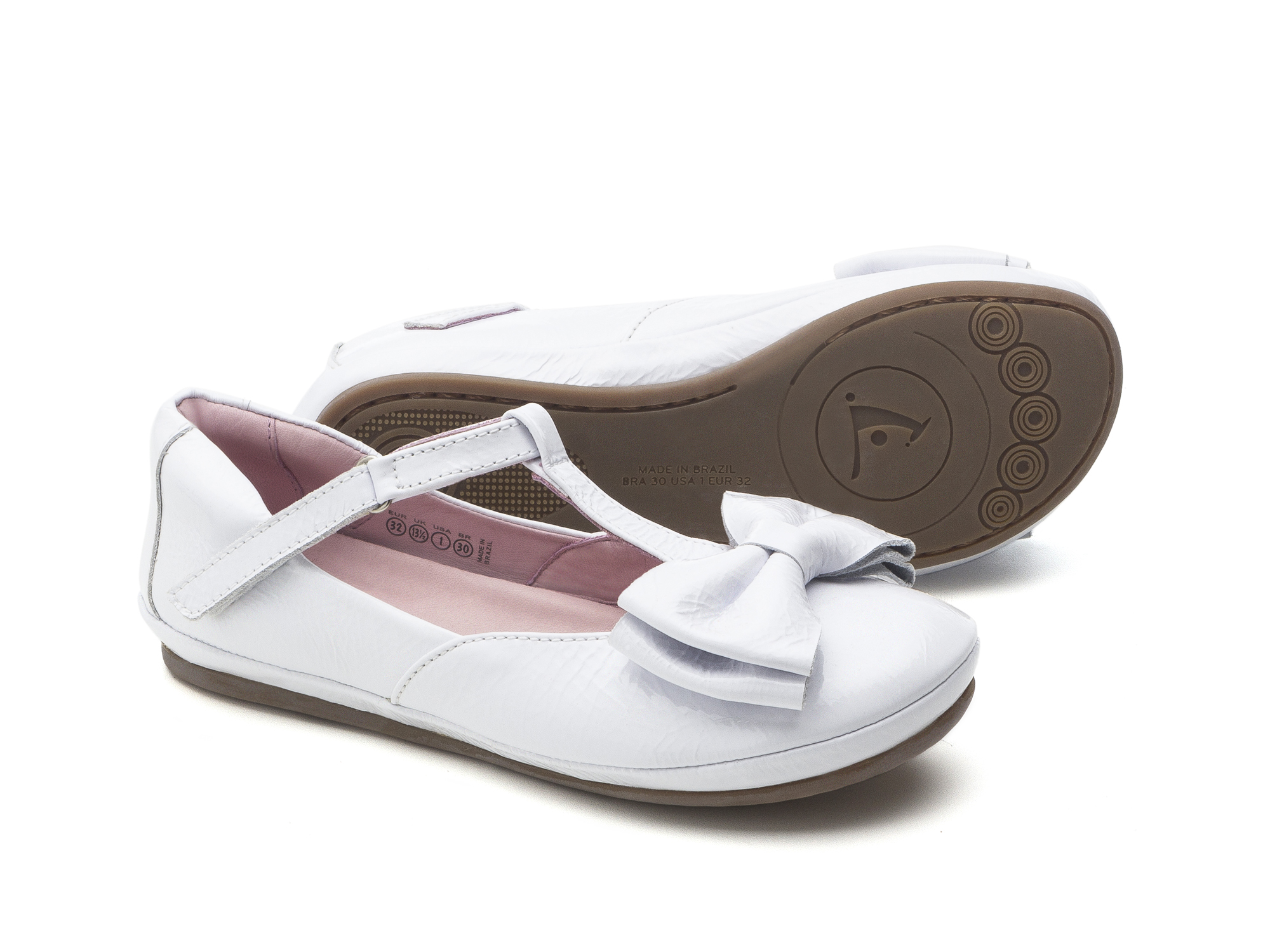 Boneca Noble Patent White Junior 4 à 8 anos - 1