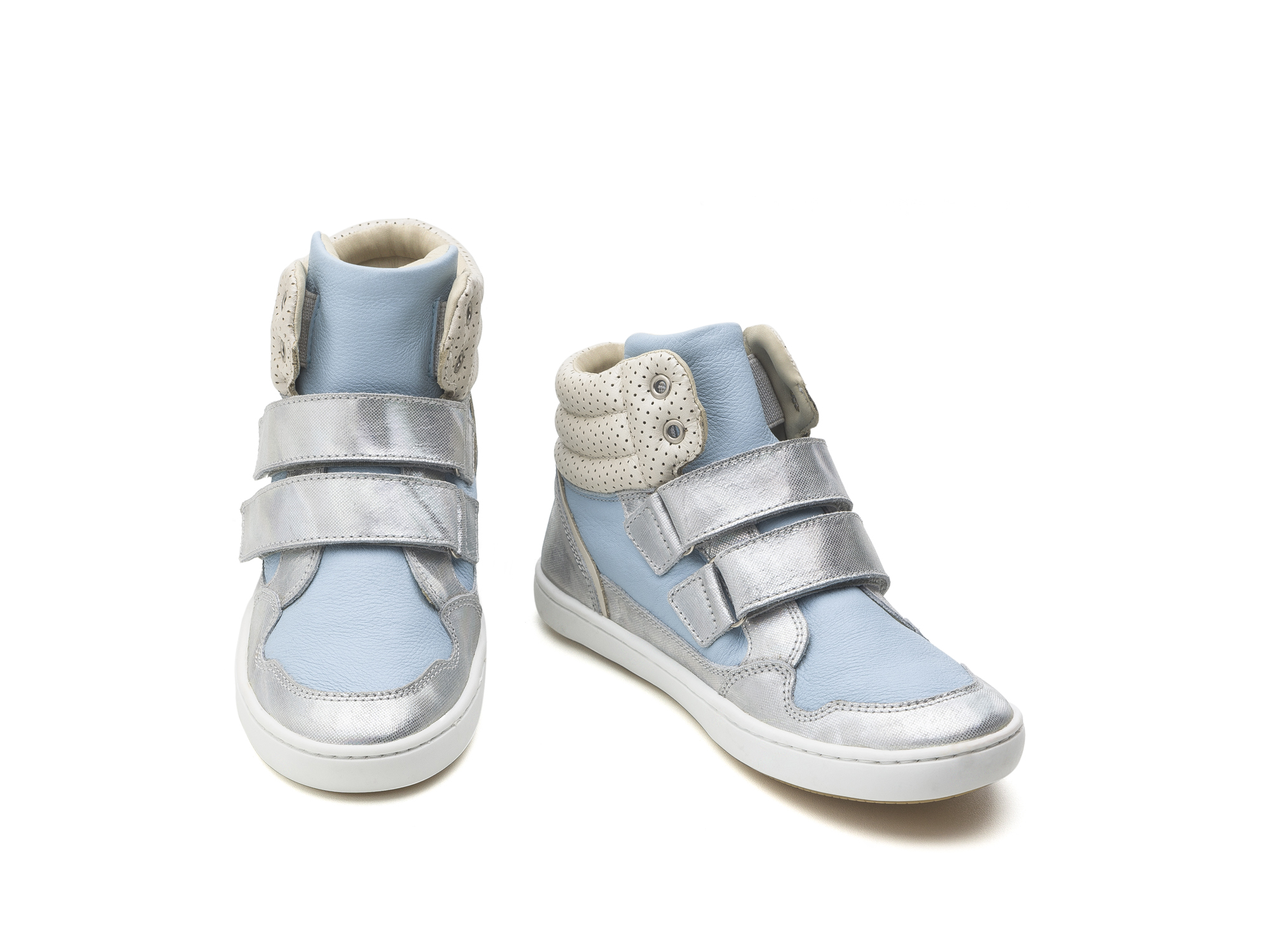 Bota Edge Sea Sparkle/ Baby Blue Junior 4 à 8 anos - 2