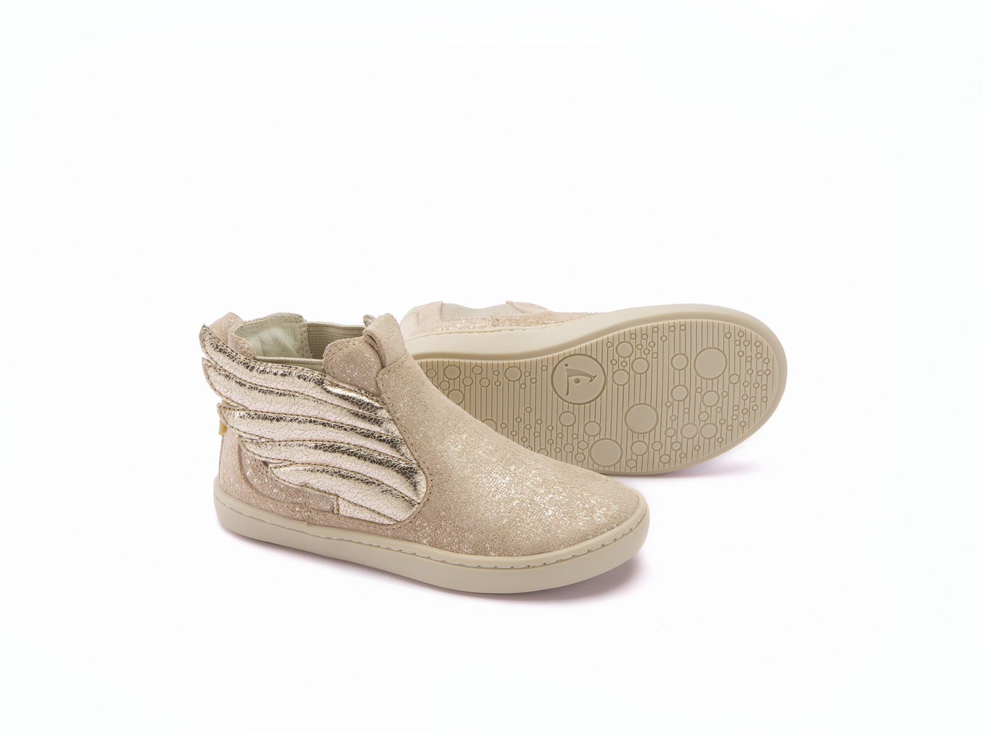 Bota Little Fantasy Rose Rustic Suede/ Salmon Shine Toddler 2 à 4 anos - 2