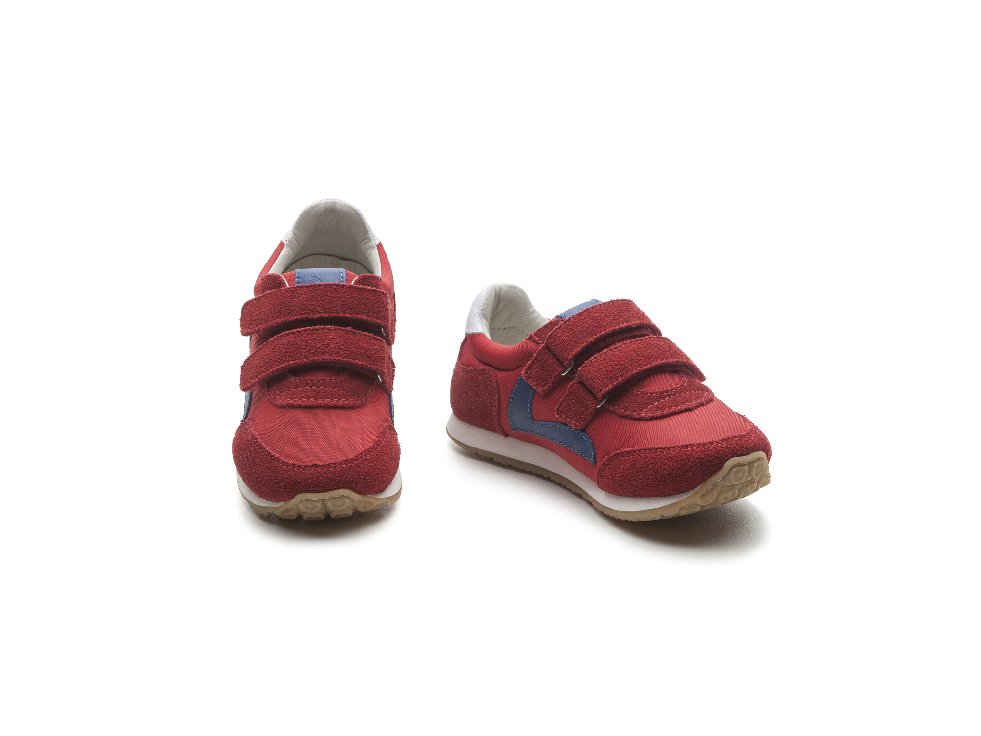 Tênis Jump Red Nylon/ Red Suede Junior 4 à 8 anos - 1