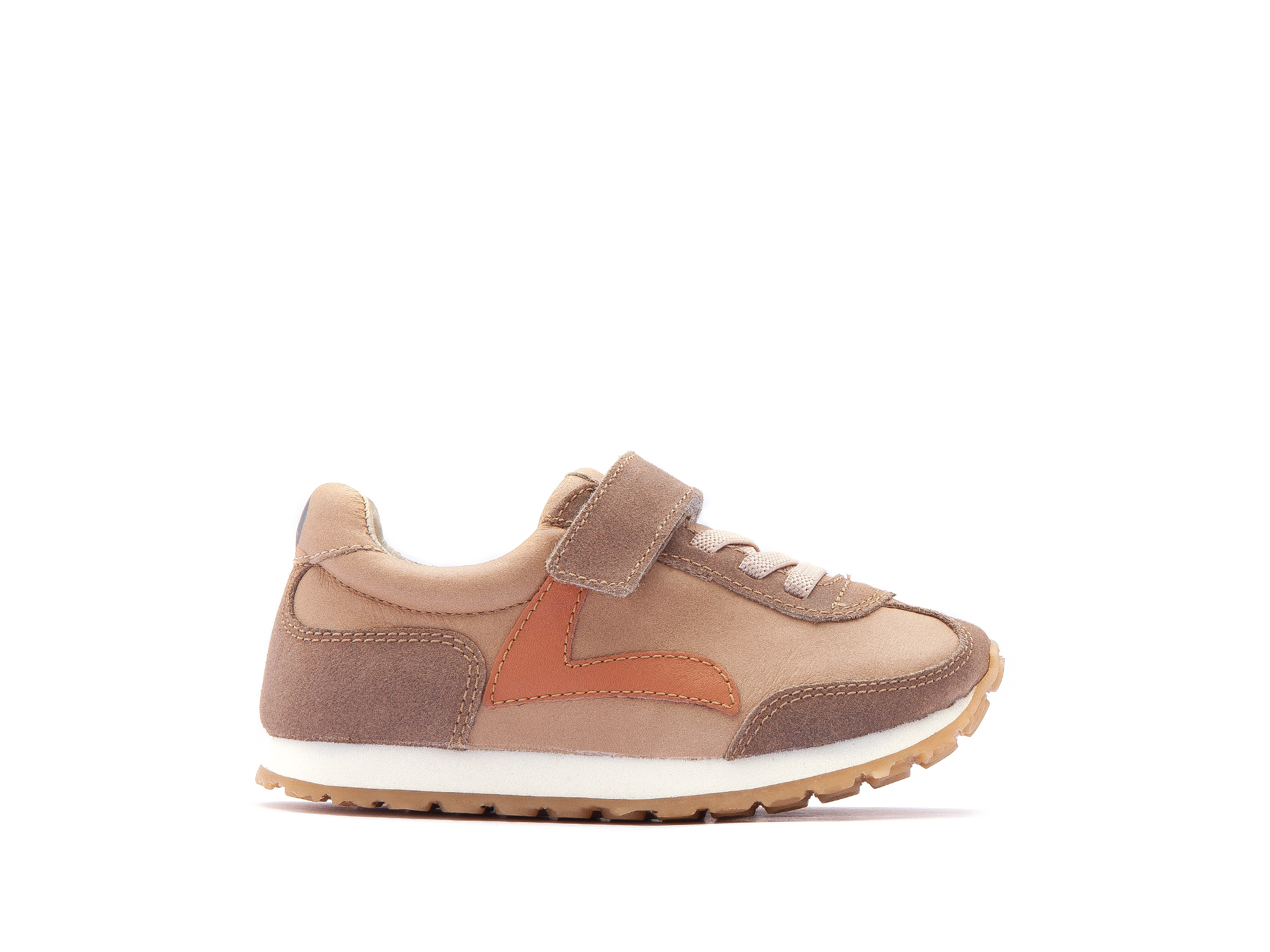 Tênis Little Start Sand/ Dry Tan Suede Toddler 2 à 4 anos - 1