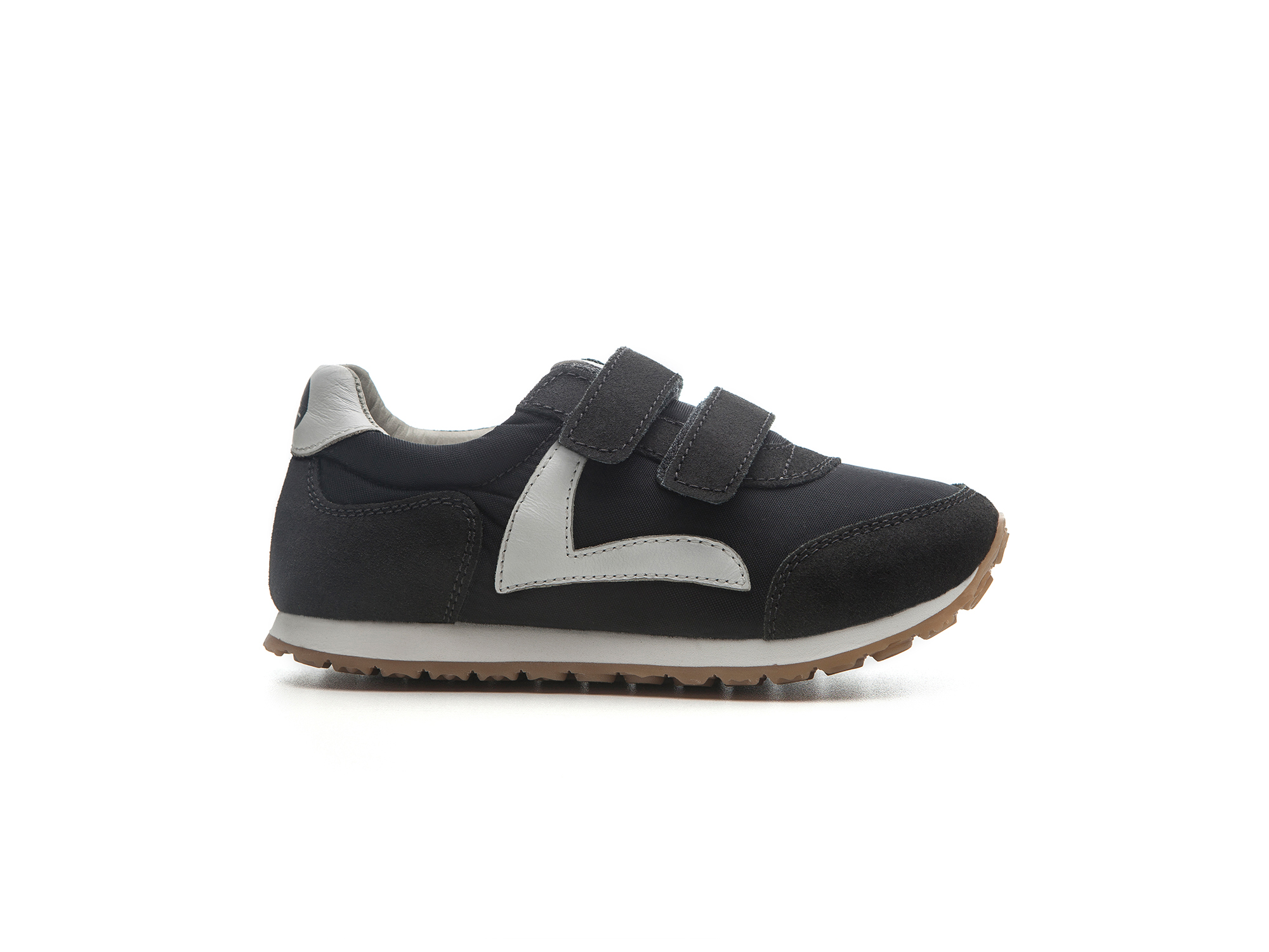 Tênis Little Jump Black Nylon/ Brushed Ash Toddler 2 à 4 anos - 0