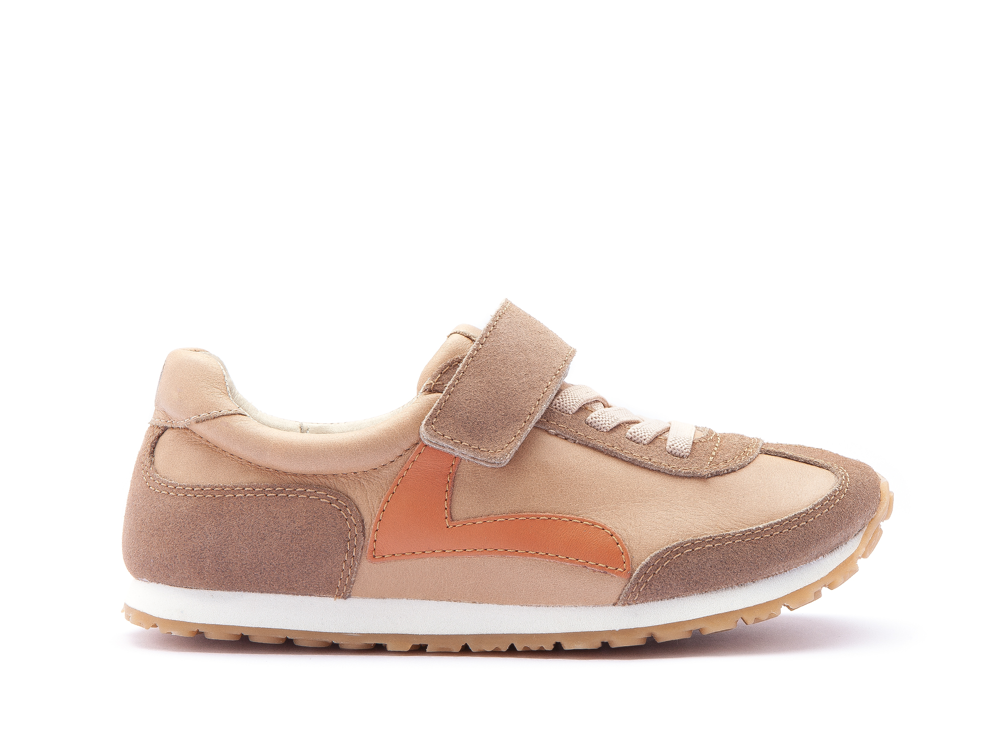 Tênis Start Sand/ Dry Tan Suede Junior 4 à 8 anos - 1