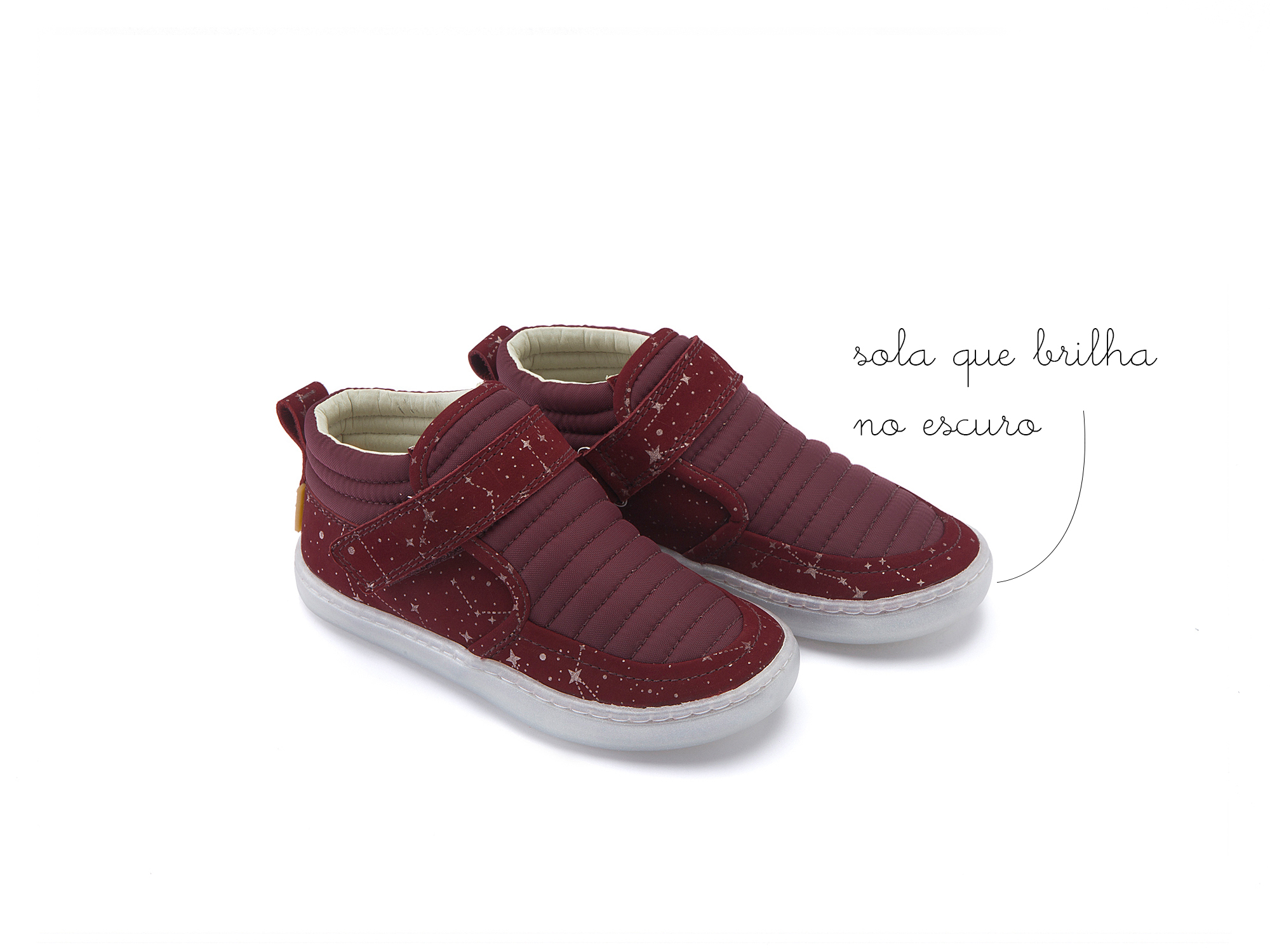 Bota Little Spacesuit Plum Nylon/ Ruby Space Toddler 2 à 4 anos - 0