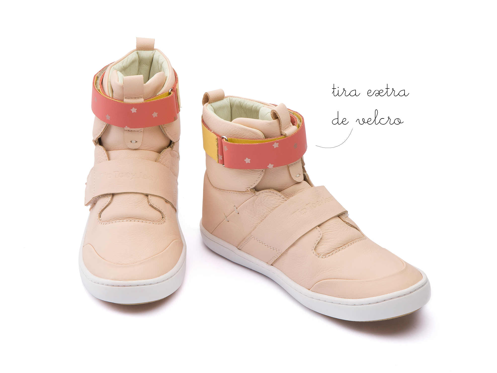 Bota Hoop Papaya Cream Junior 4 à 8 anos - 3