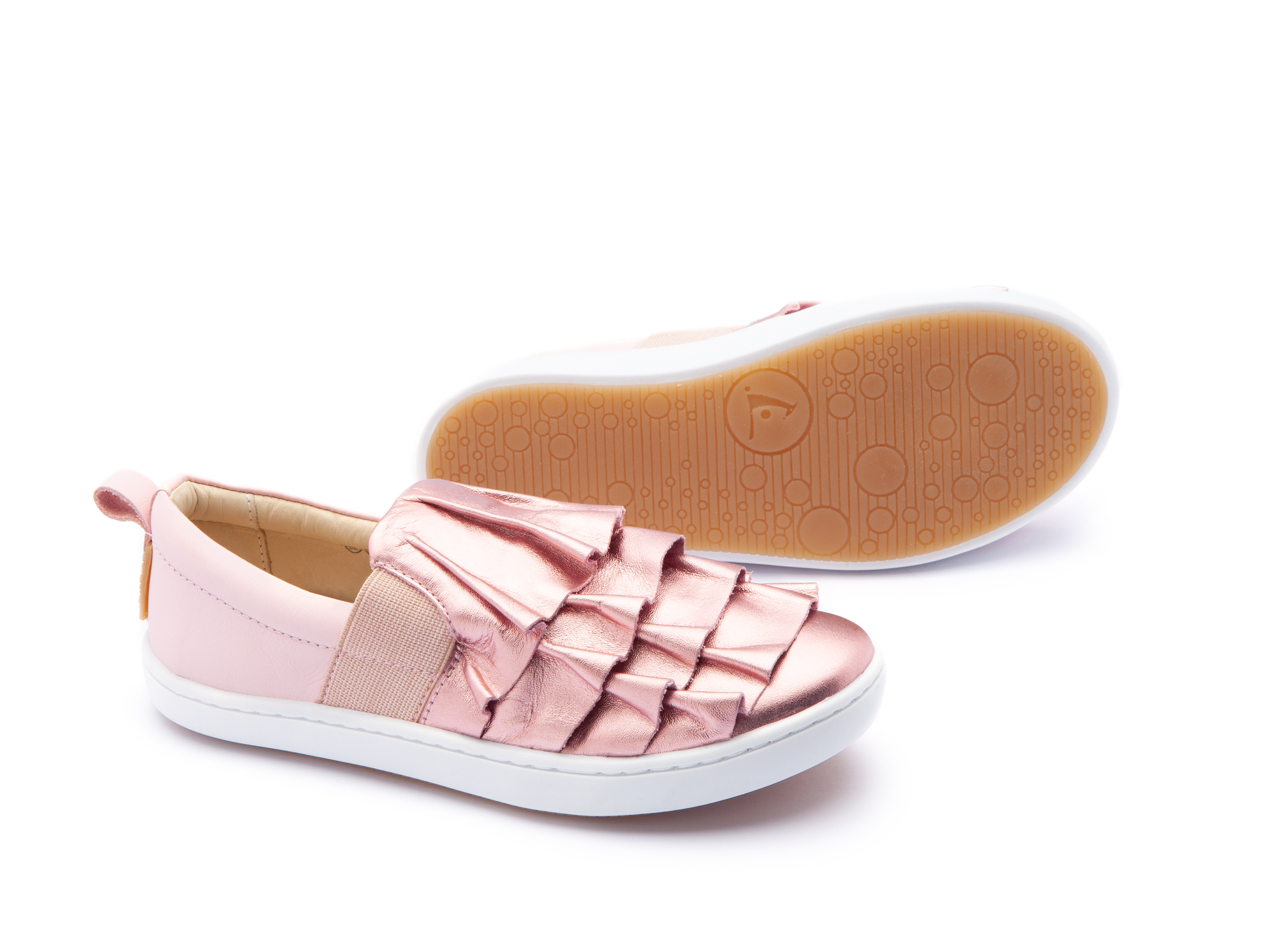 Tênis Flamenco Rose Gold/ Blossom Pink Junior 4 à 8 anos - 2