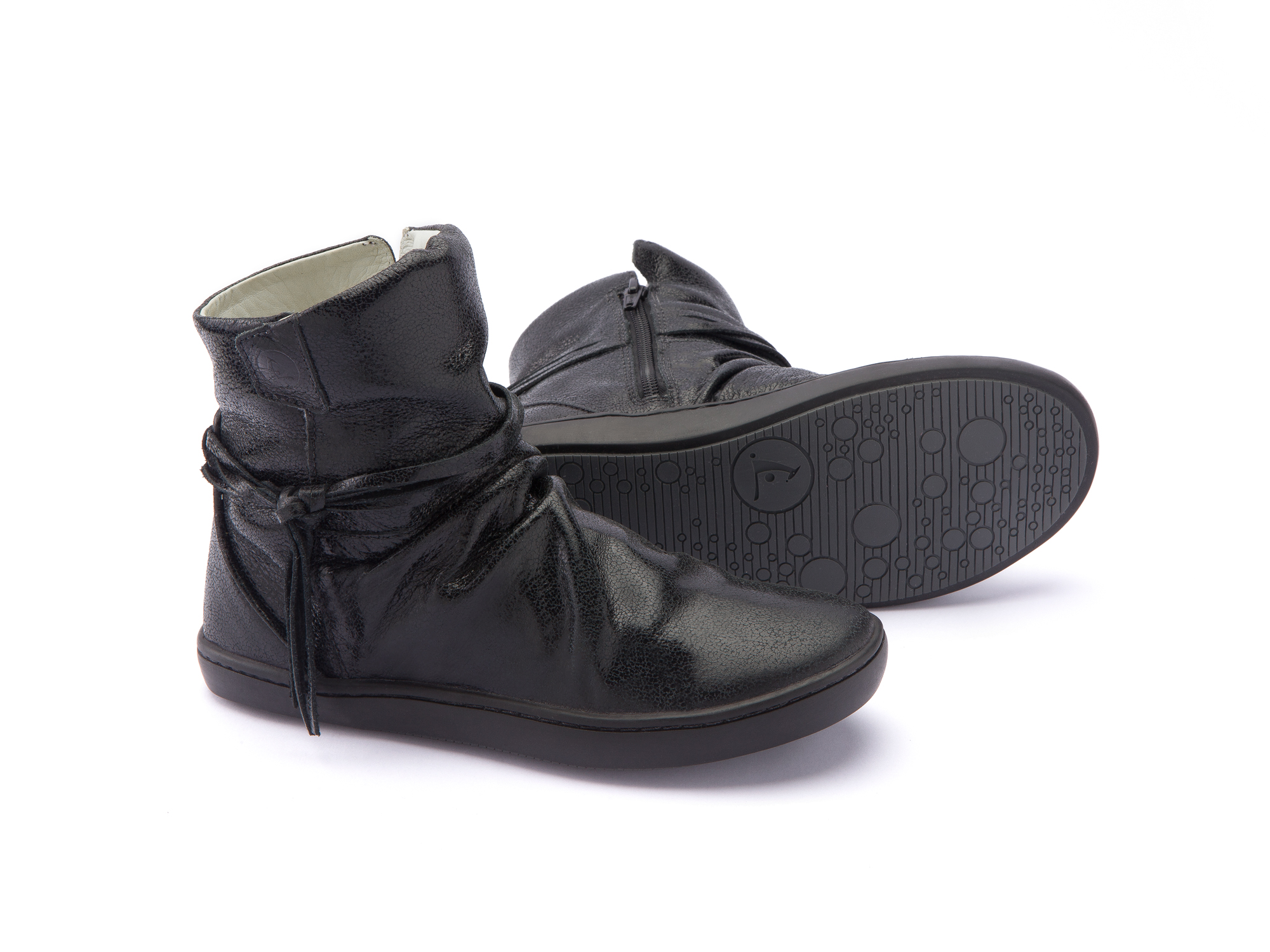 Bota Ridge Black Shine Junior 4 à 8 anos - 2
