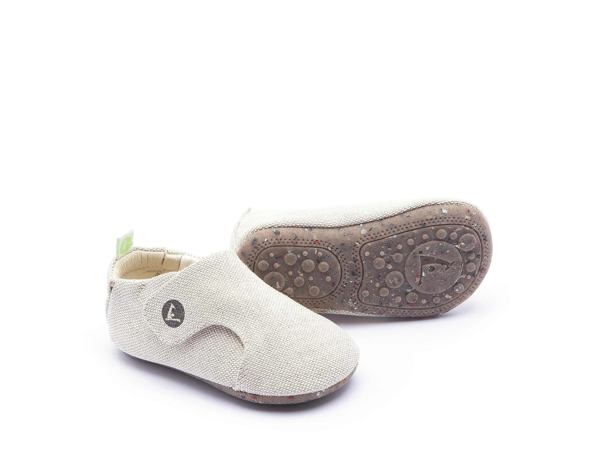 Sneaker Casual Greeny Natural Canvas Baby 0 à 2 anos - 0