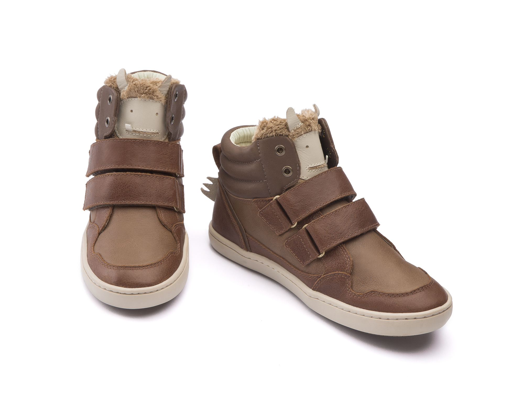 Bota Monster Coffee Brush/ Whisky Junior 4 à 8 anos - 1