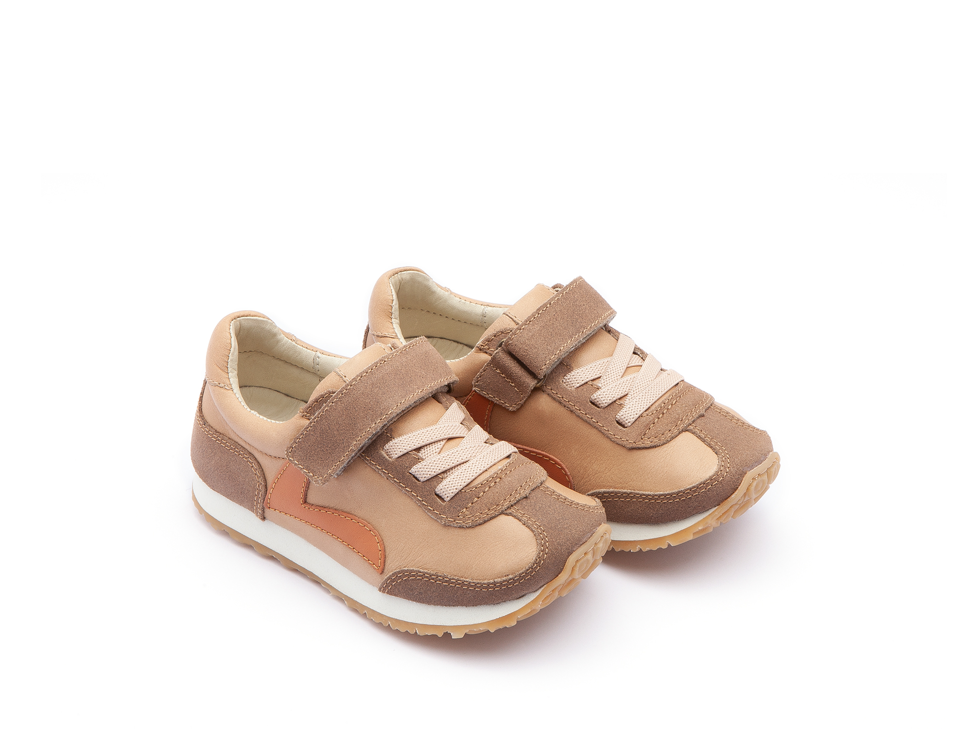 Tênis Little Start Sand/ Dry Tan Suede Toddler 2 à 4 anos - 0