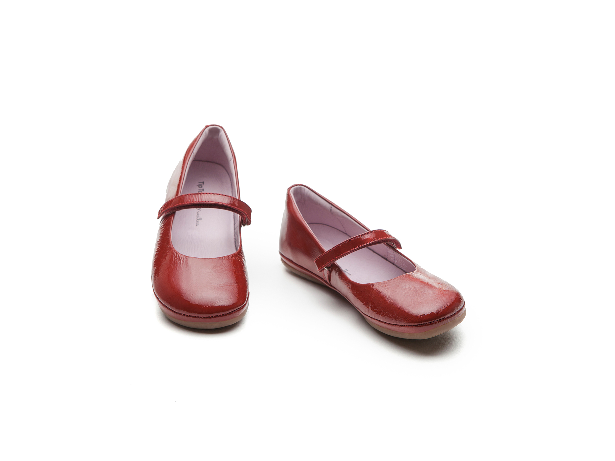 Boneca New Fizz Patent Red Junior 4 à 8 anos - 1