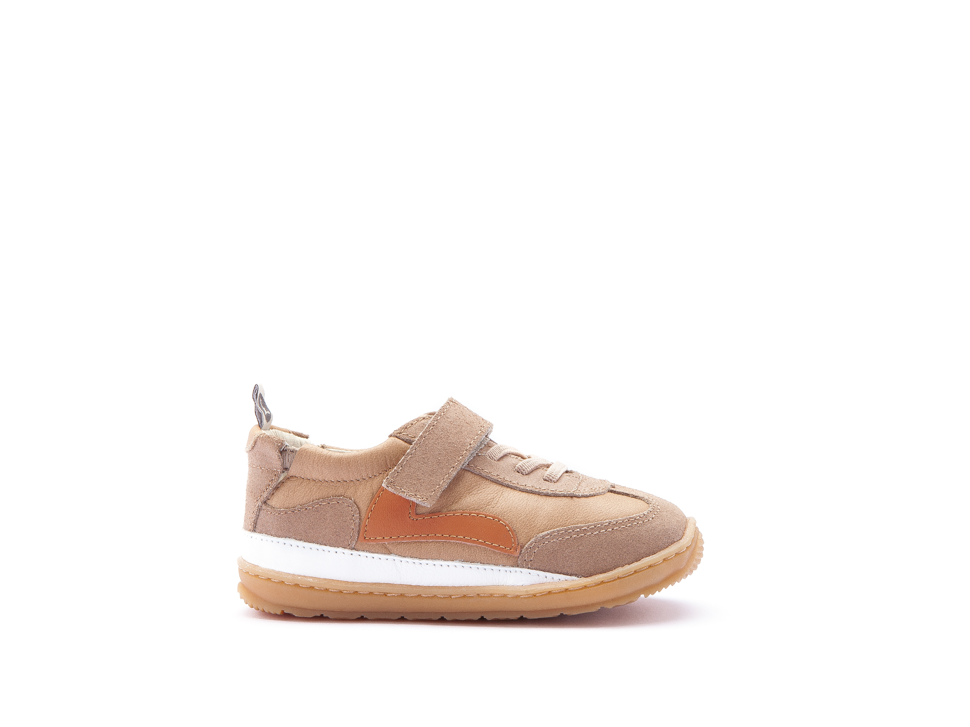 Tênis Starty Sand/ Dry Tan Suede Baby 0 à 2 anos - 1