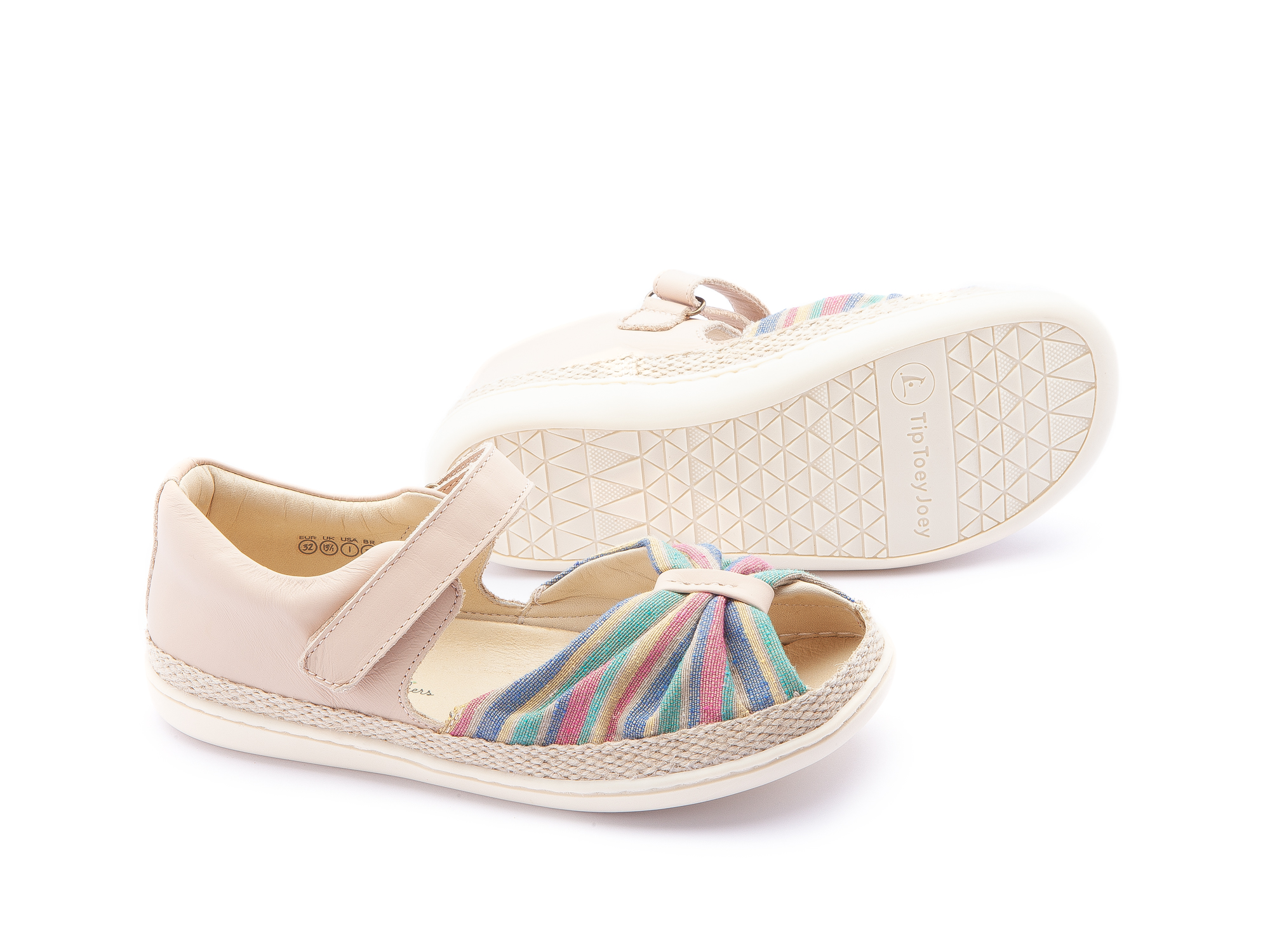 Sandália Coast Rainbow Canvas/ Yogurt Junior 4 à 8 anos - 2