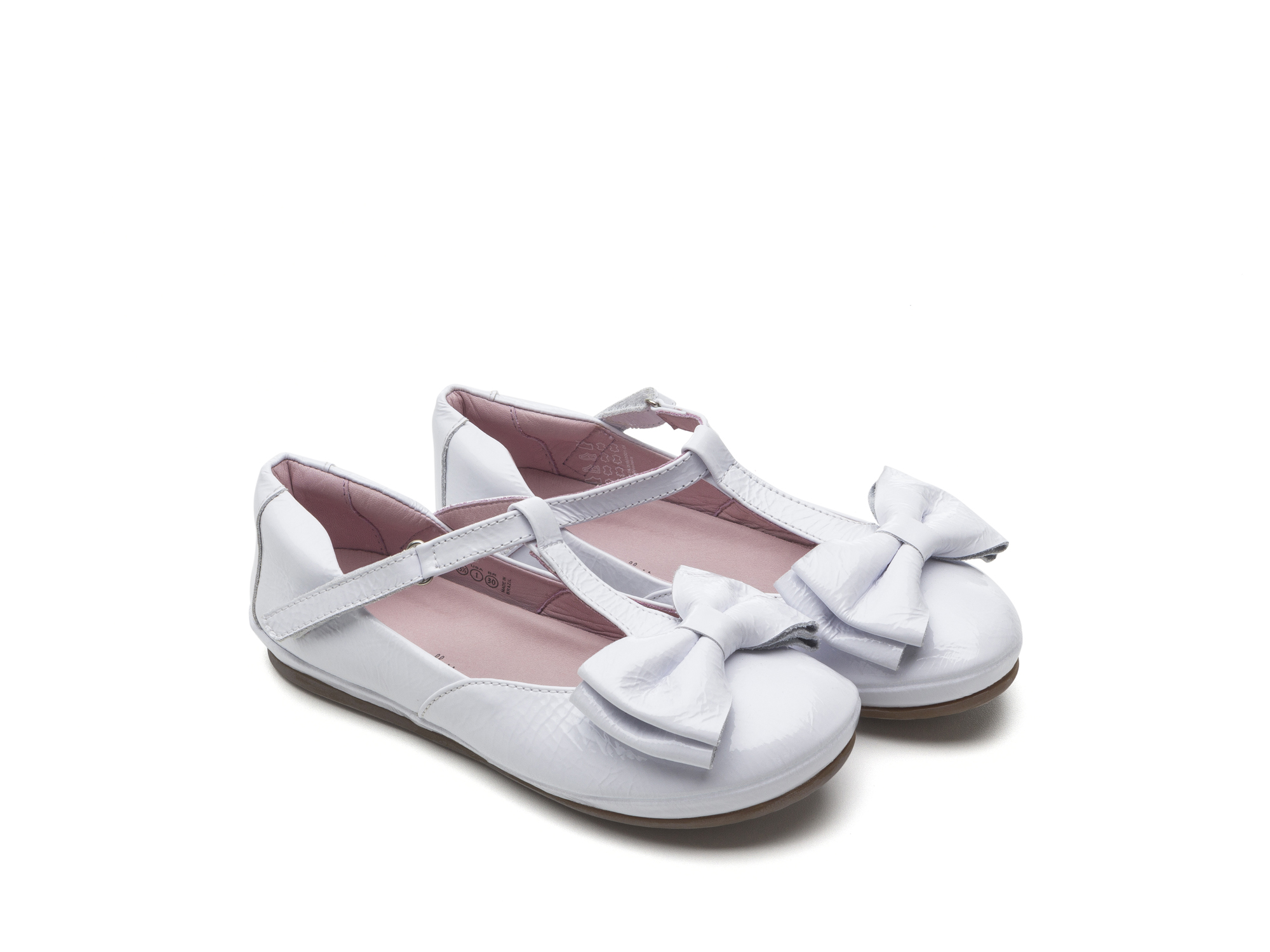 Boneca Noble Patent White Junior 4 à 8 anos - 0
