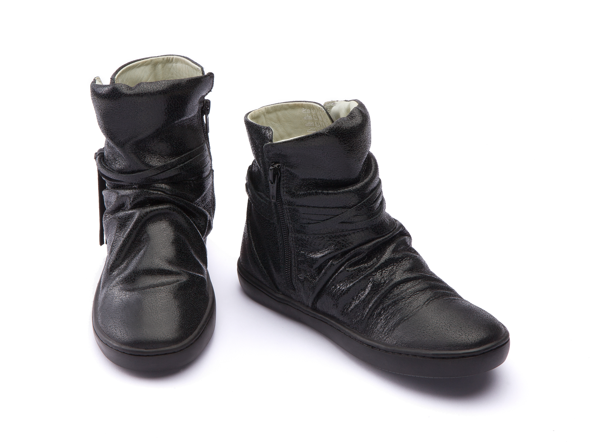 Bota Ridge Black Shine Junior 4 à 8 anos - 1