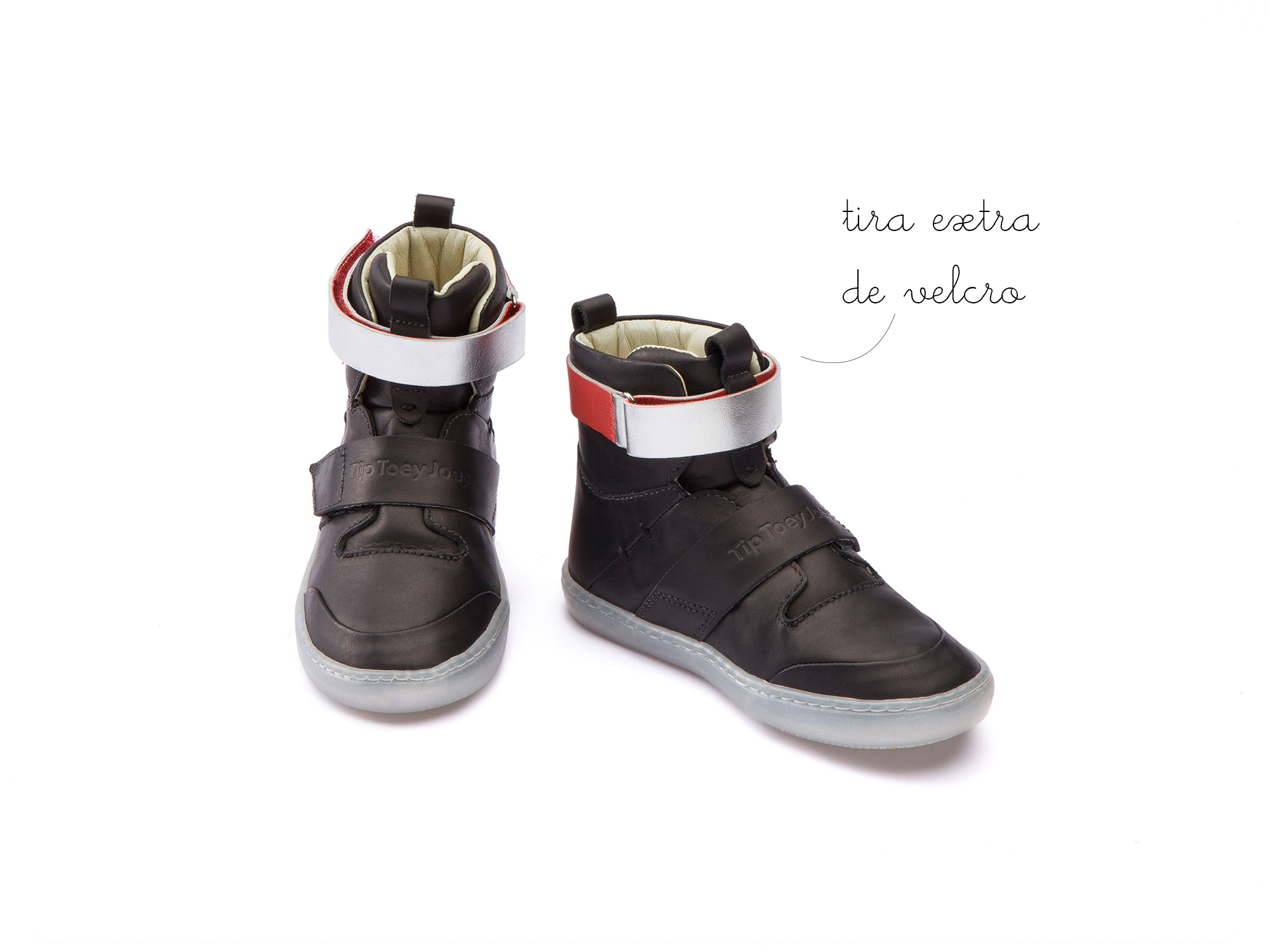 Bota Little Hoop Jet Black Toddler 2 à 4 anos - 4