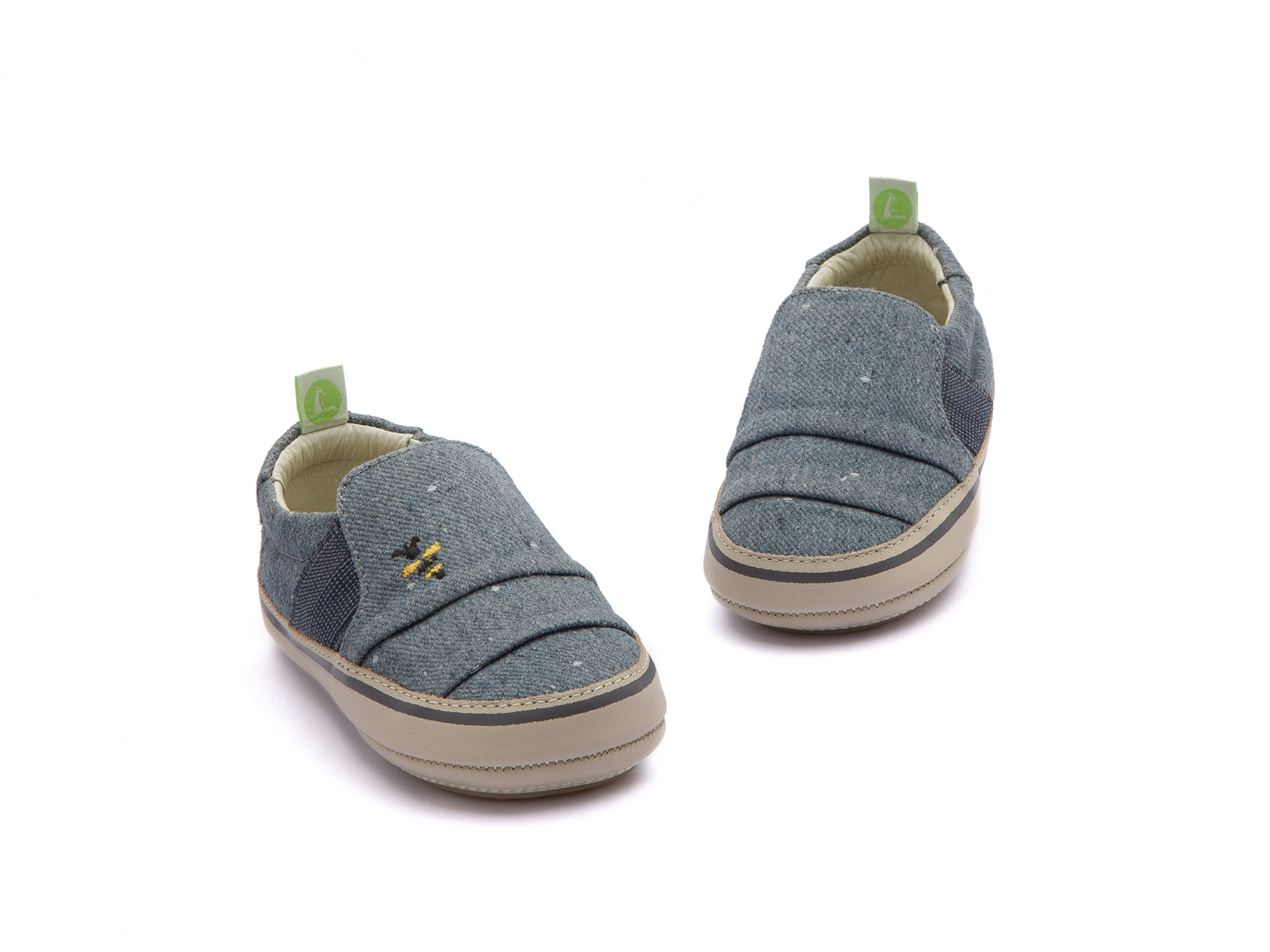Tênis Slippy Bluish Space Canvas Beeswax/ Pumice Baby 0 à 2 anos - 2