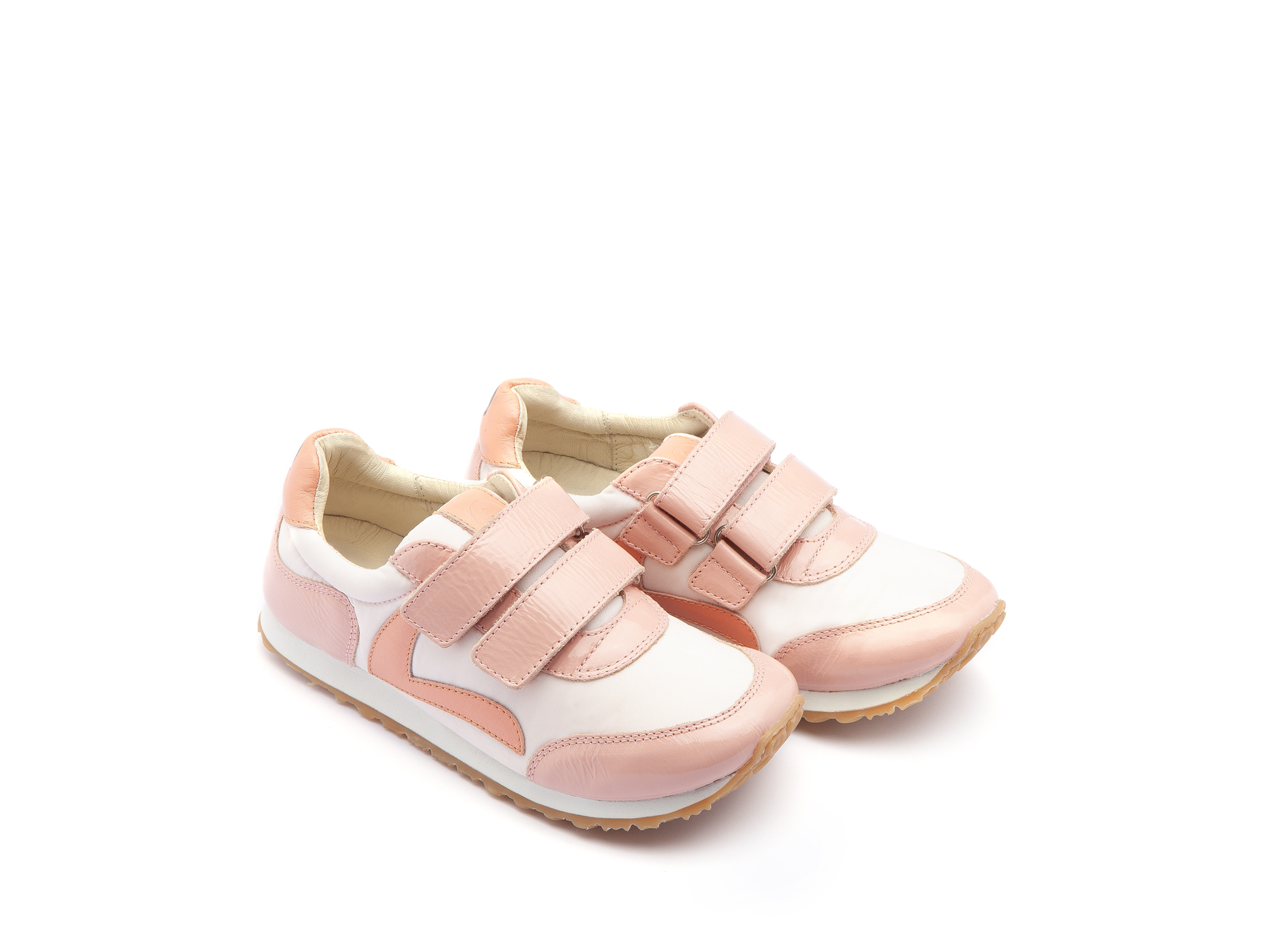 Tênis Jump Light Pink Nylon/ Patent Blush Junior 4 à 8 anos - 0