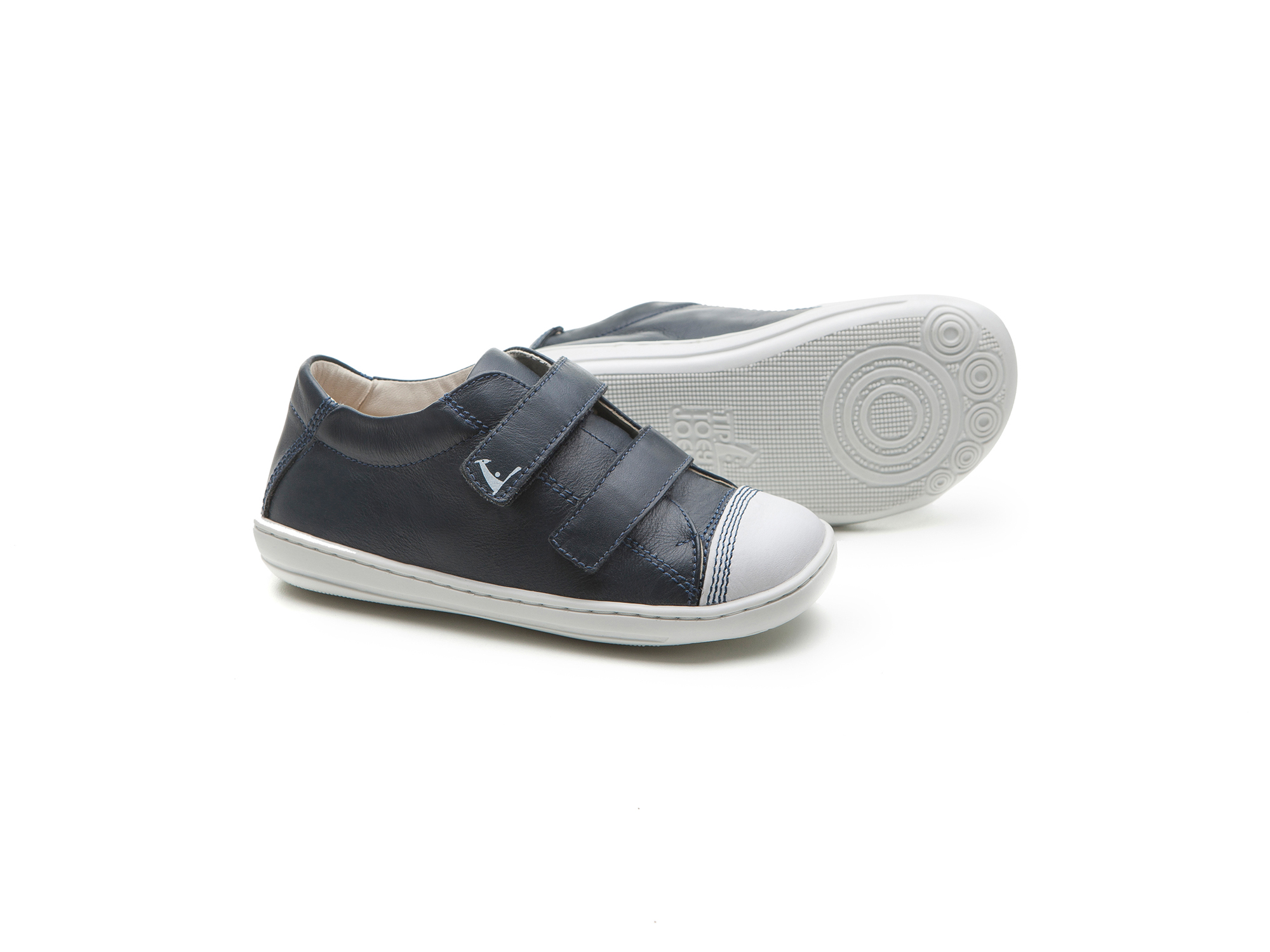 Tênis New Hunch Navy/ White Toddler 2 à 4 anos - 2
