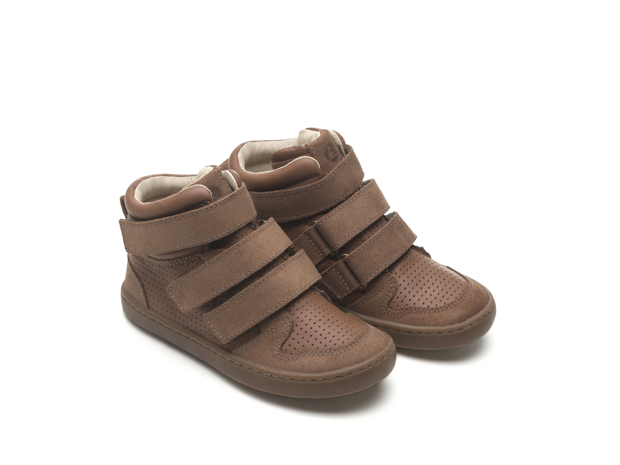 Bota Little Edge Rust Suede/ Cacau Holes Toddler 2 à 4 anos - 0