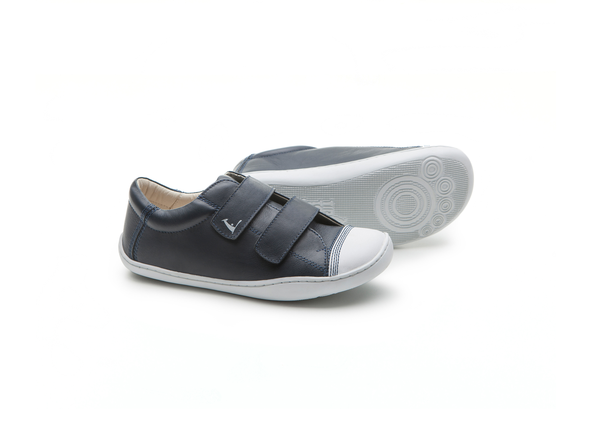 Tênis Munch Navy/ White Junior 4 à 8 anos - 2