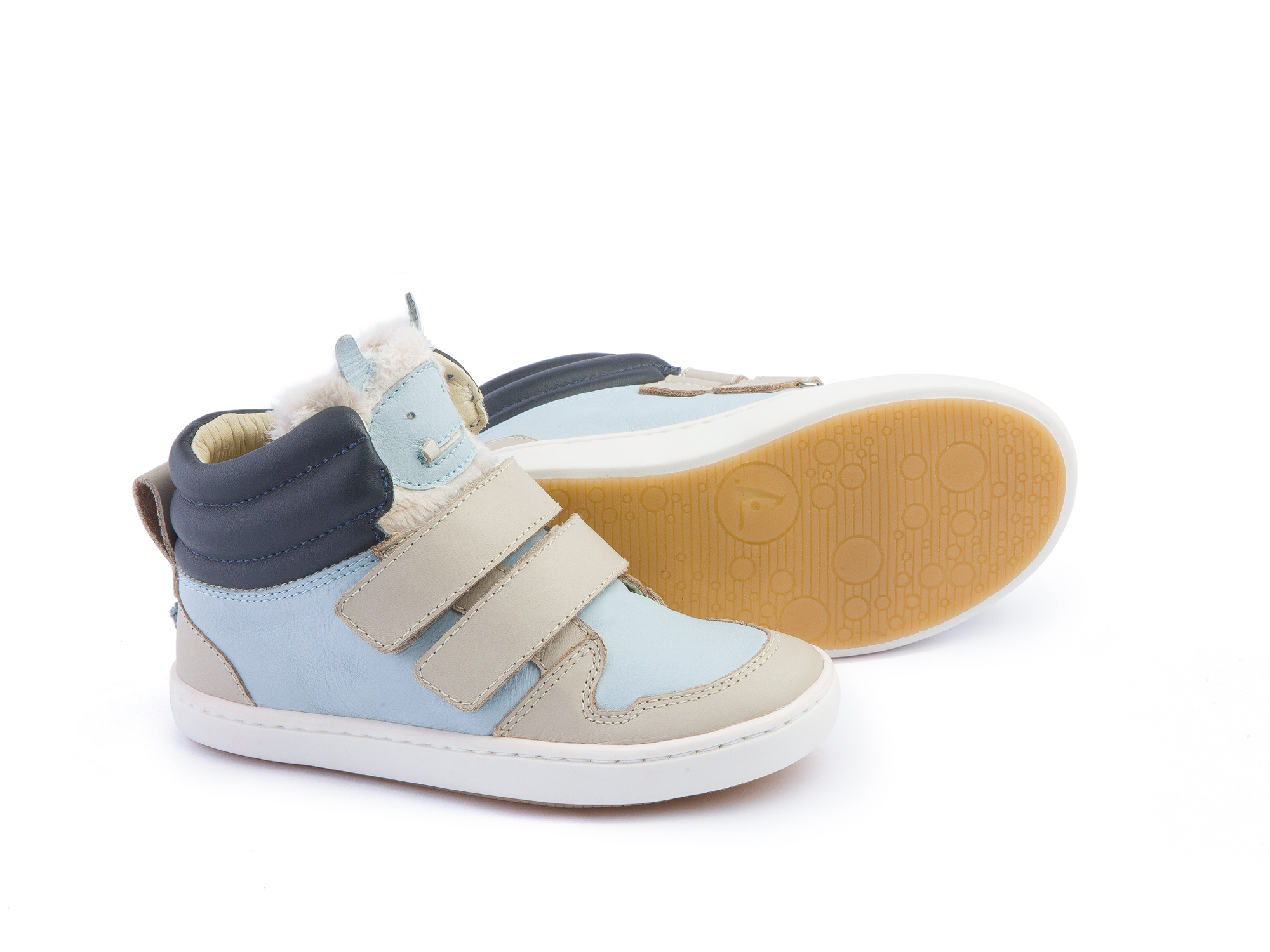 Bota Little Monster Pumice/ Baby Blue Toddler 2 à 4 anos - 2