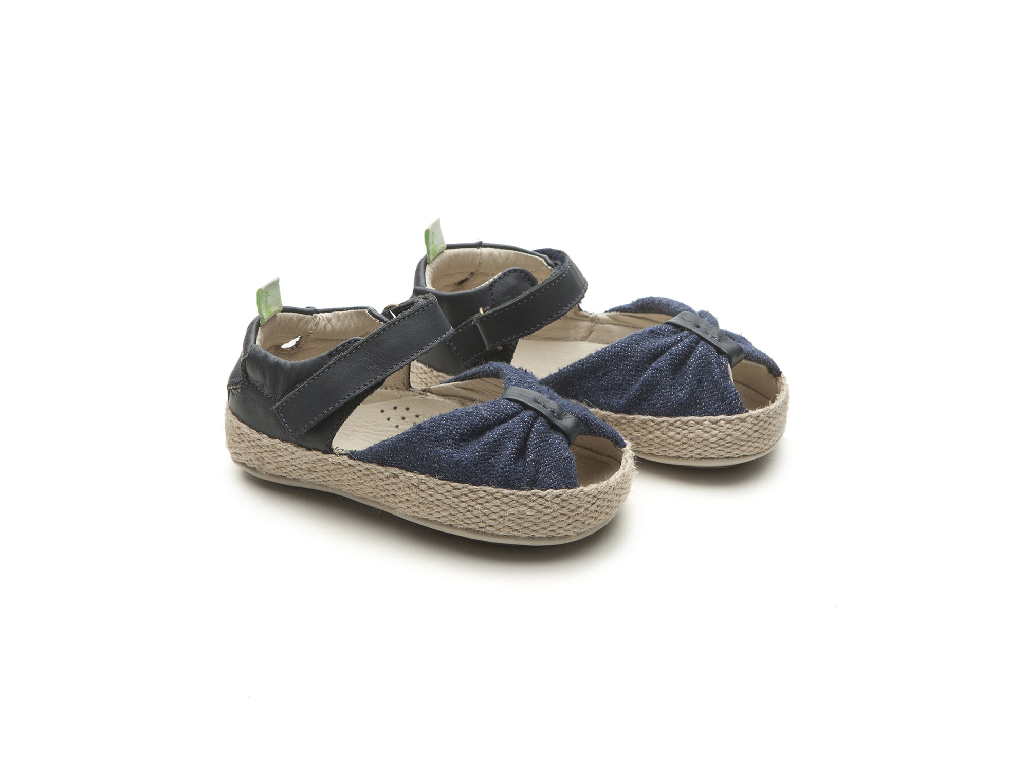 Sandália Coasty Jeans Canvas/ Navy Baby 0 à 2 anos - 0