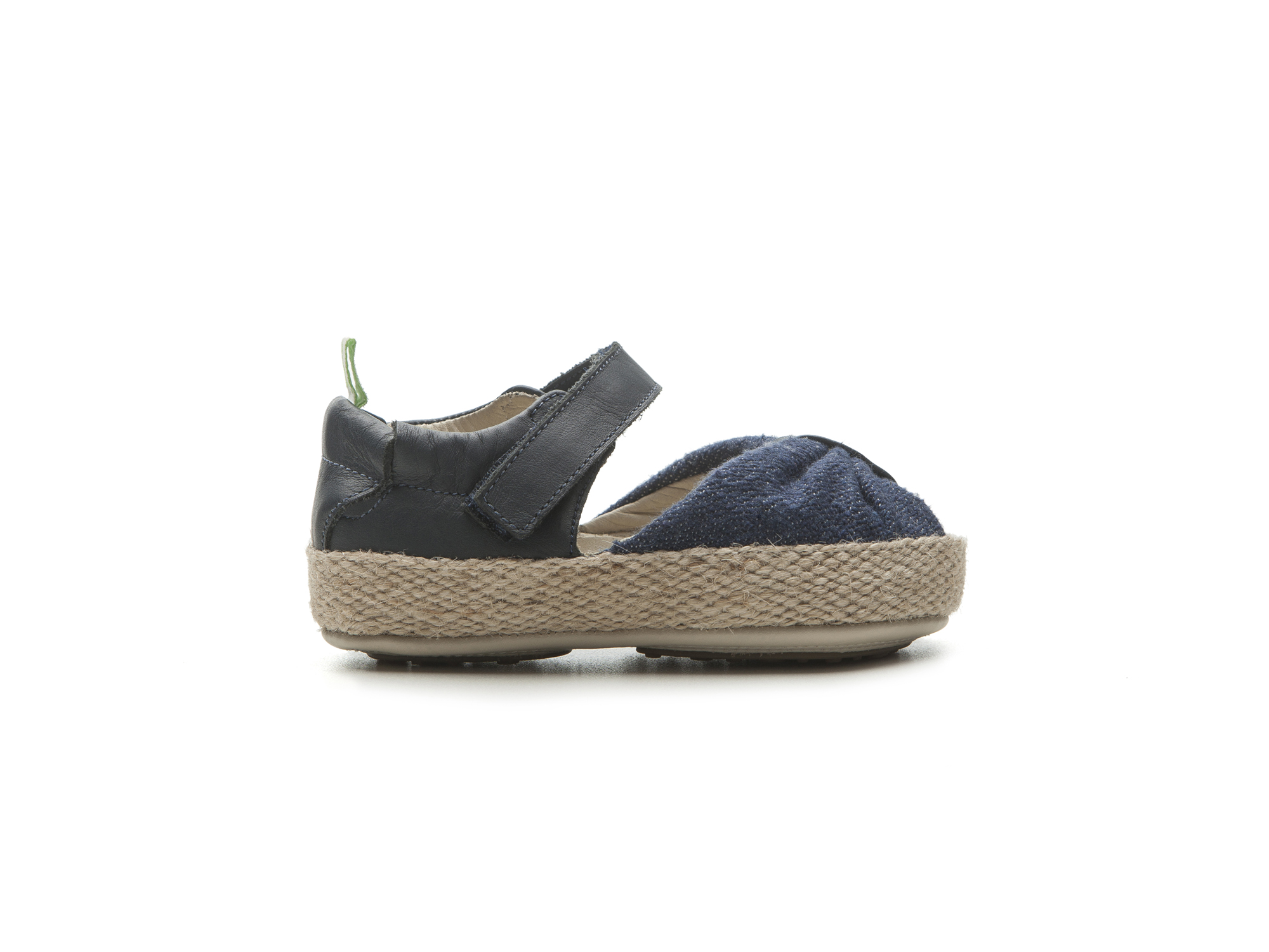 Sandália Coasty Jeans Canvas/ Navy Baby 0 à 2 anos - 2