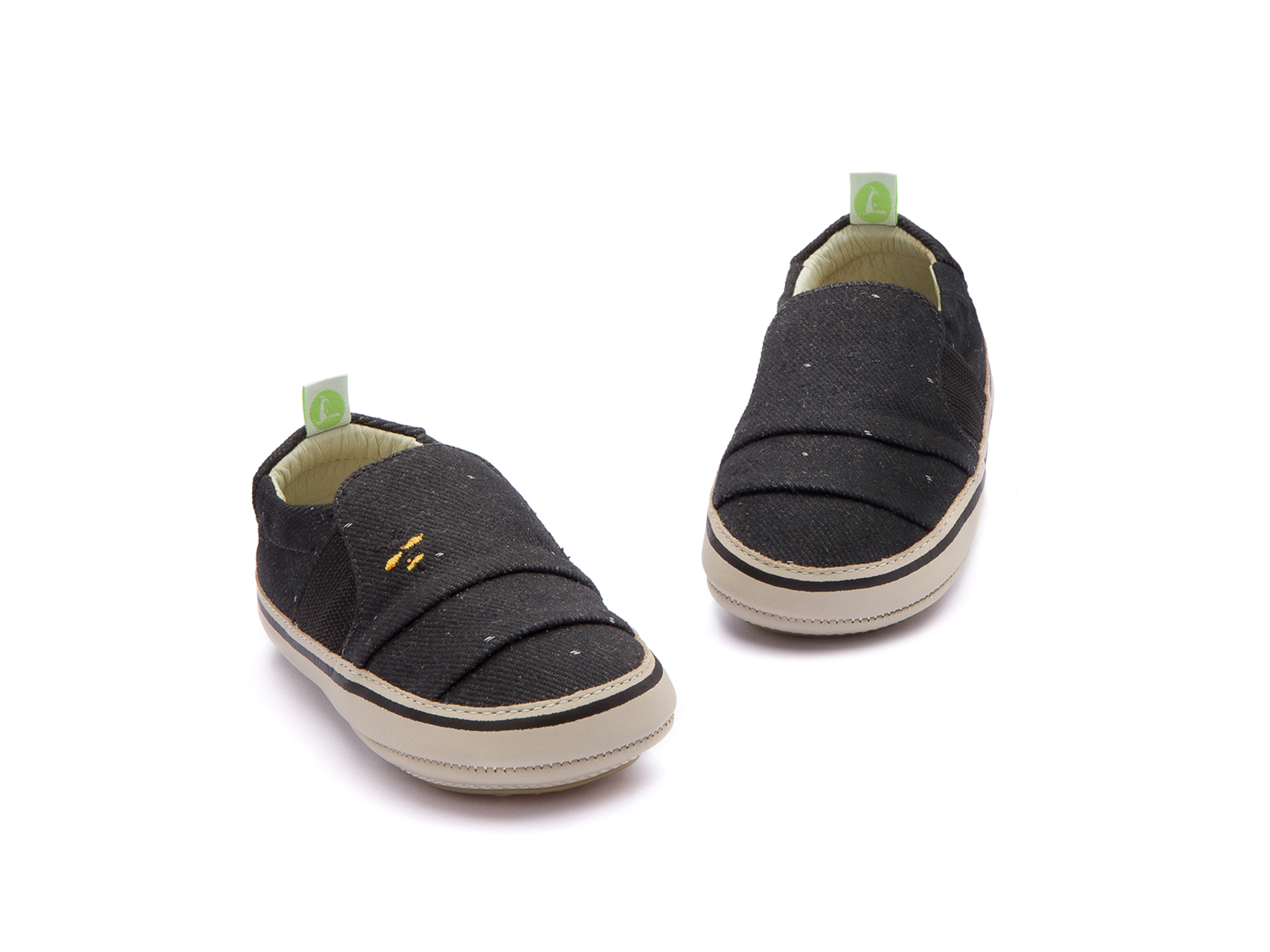 Tênis Slippy Black Space Canvas Beeswax/ Pumice Baby 0 à 2 anos - 2