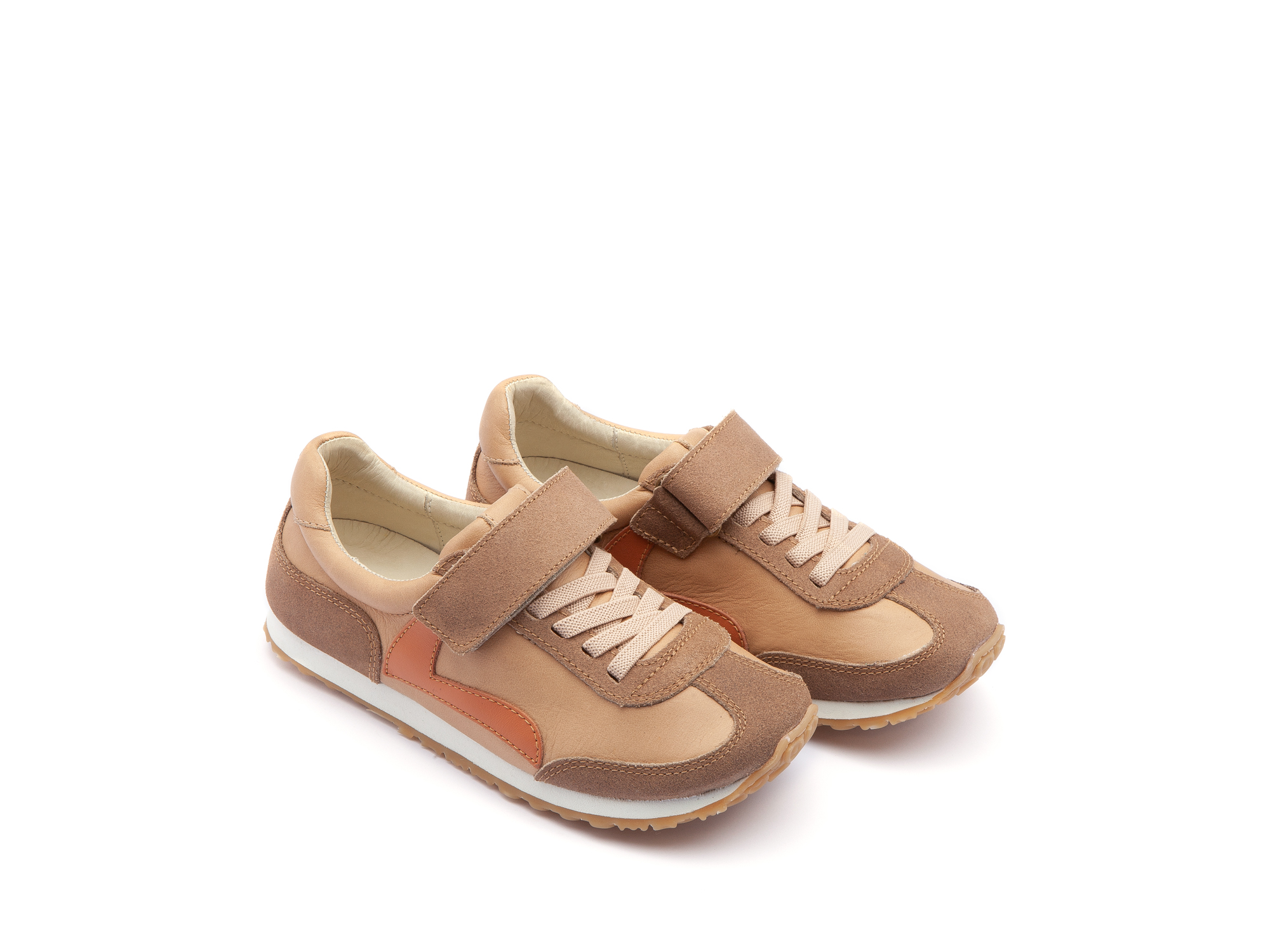 Tênis Start Sand/ Dry Tan Suede Junior 4 à 8 anos - 0