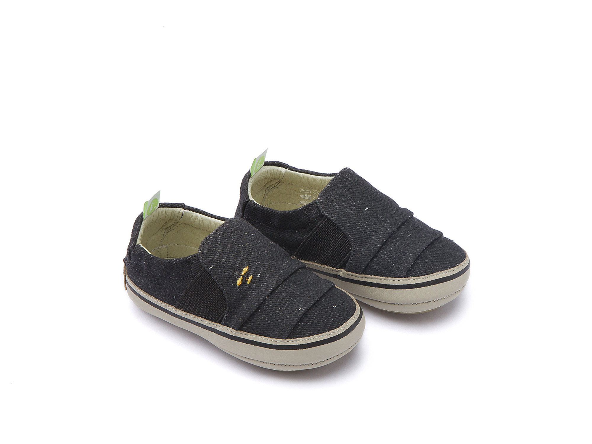 Tênis Slippy Black Space Canvas Beeswax/ Pumice Baby 0 à 2 anos - 0