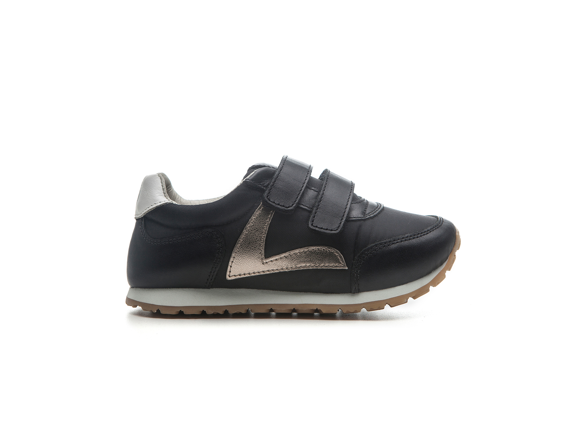 Tênis Little Jump Black Nylon/ Black Toscana  Toddler 2 à 4 anos - 0