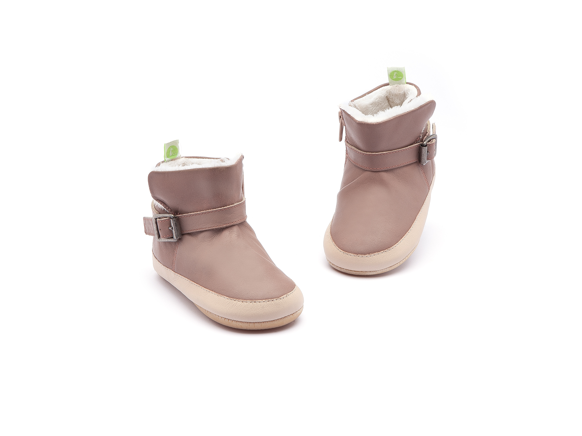 Bota Chilly Mogno Rose/ Yogurt Baby 0 à 2 anos - 3