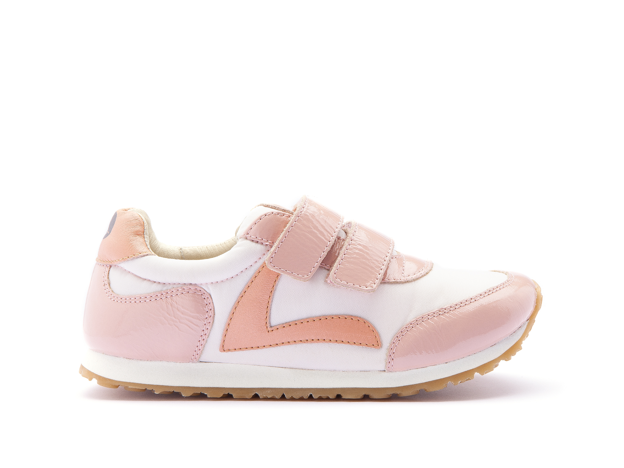 Tênis Jump Light Pink Nylon/ Patent Blush Junior 4 à 8 anos - 1