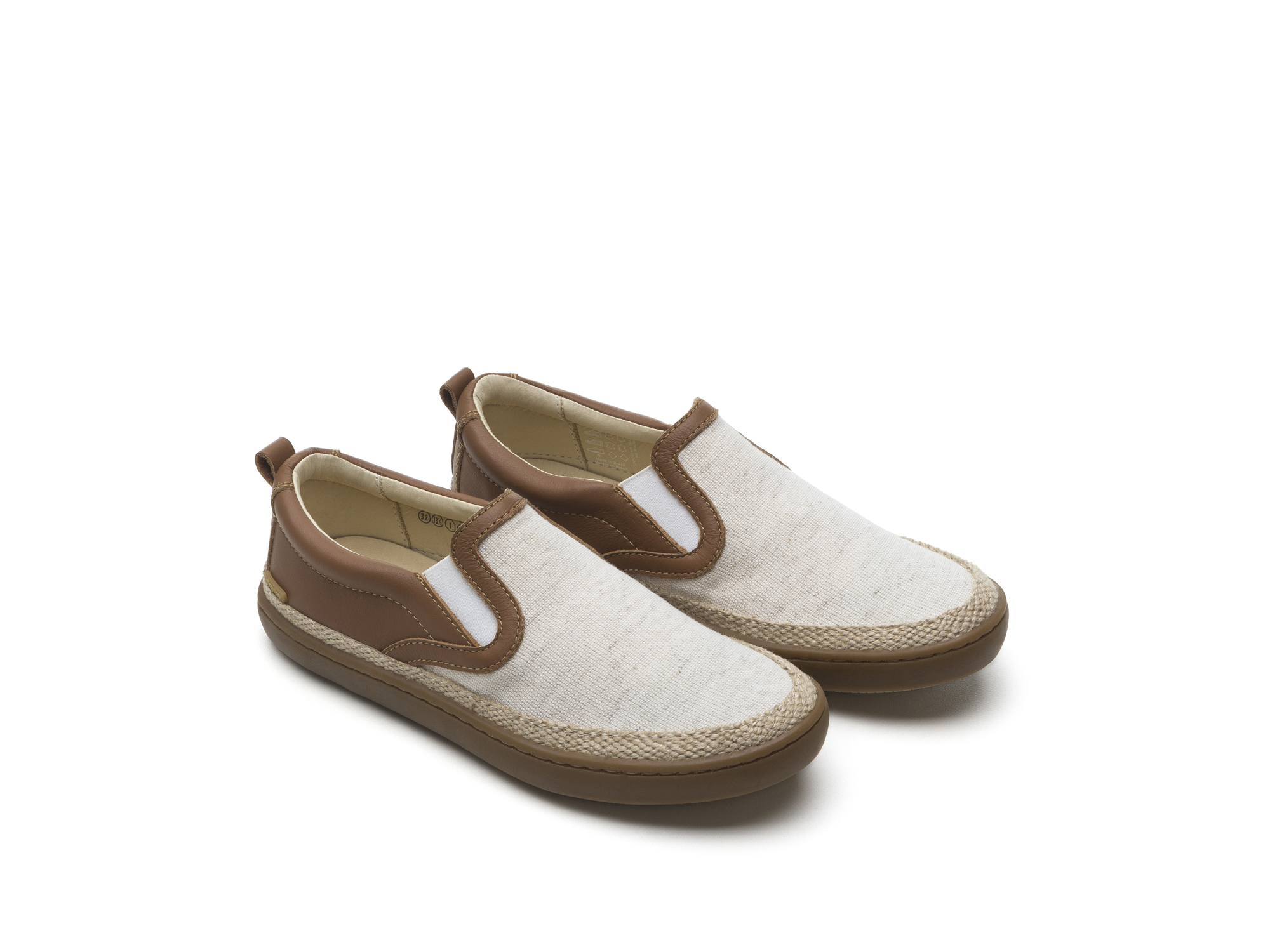 Tênis Straw Linen Canvas/ Cacau Junior 4 à 8 anos - 0
