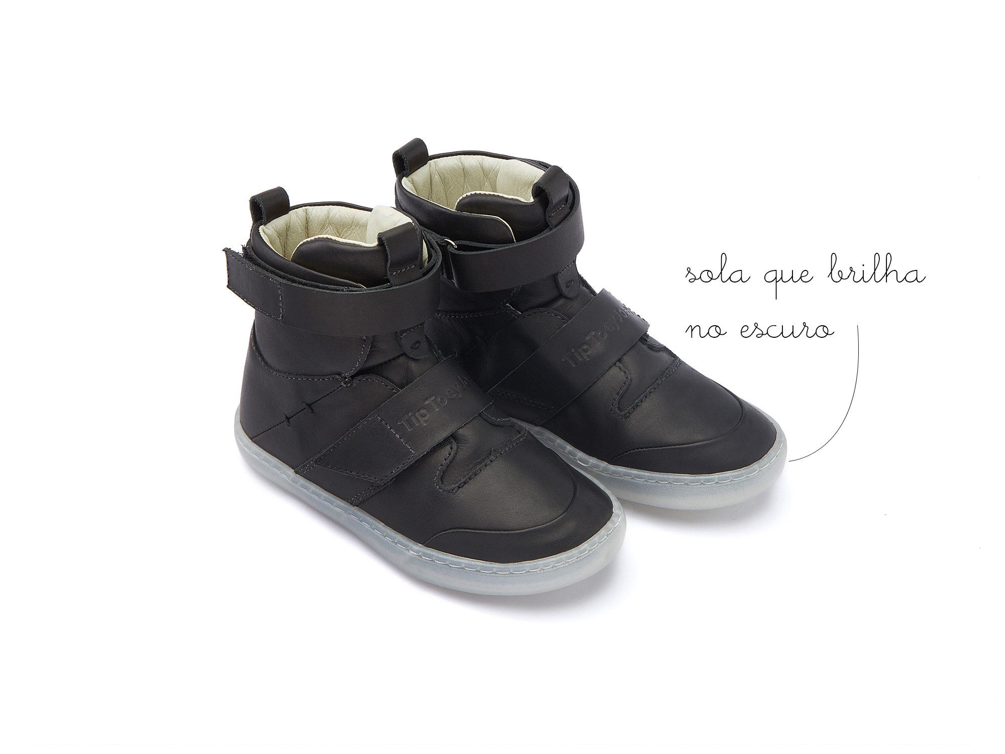 Bota Little Hoop Jet Black Toddler 2 à 4 anos - 0